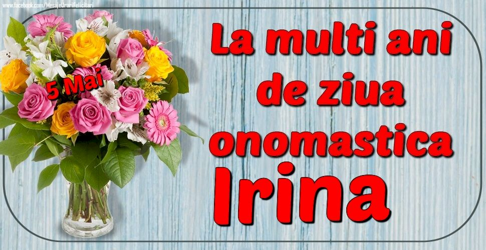 Mesaje și urări de Sfânta Irina. Mare sărbătoare pe 5 mai. Poze și felicitări