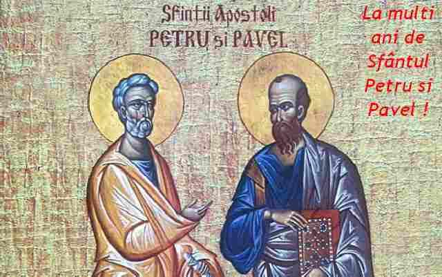 Mesaje de Sf. Petru și Pavel 2020: Urări, sms-uri și felicitări pentru cei dragi
