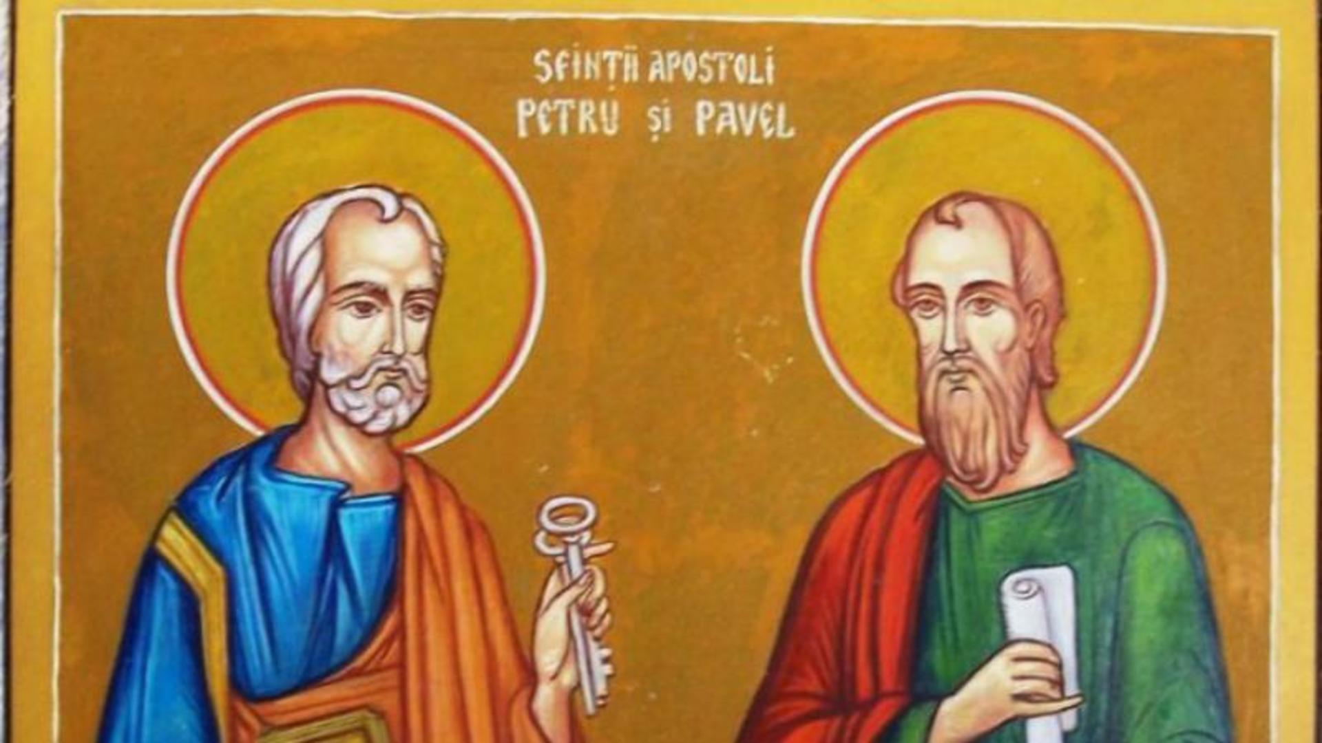 Sfinții Apostoli Petru și Pavel. Cea mai puternică rugăciune