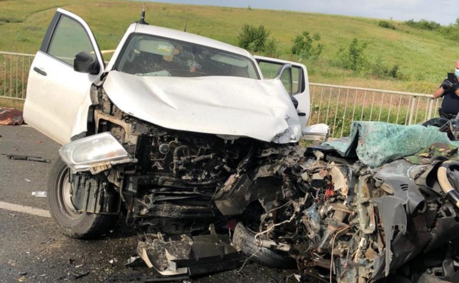 Accident groaznic în Teleorman 2 persoane au murit și 1 în stare gravă