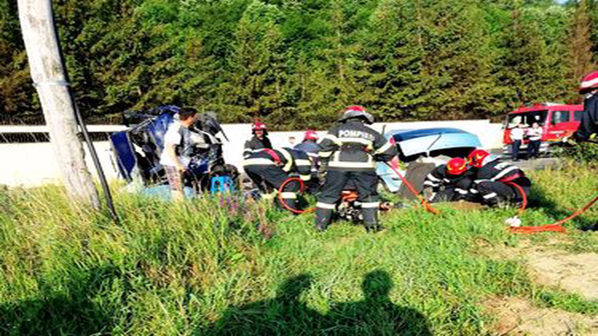Accident mortal în Vrancea! S-a activat Planul Roșu și au intervenit 11 autospeciale