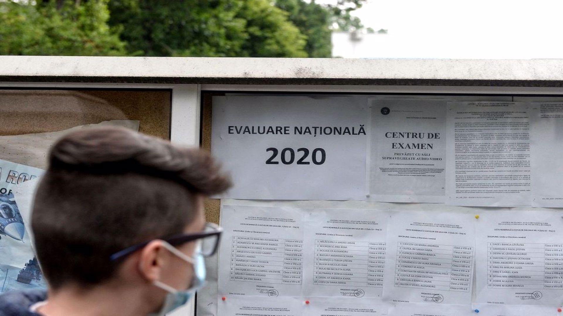 Evaluarea Națională 2020. Elevii susțin miercuri proba la matematică