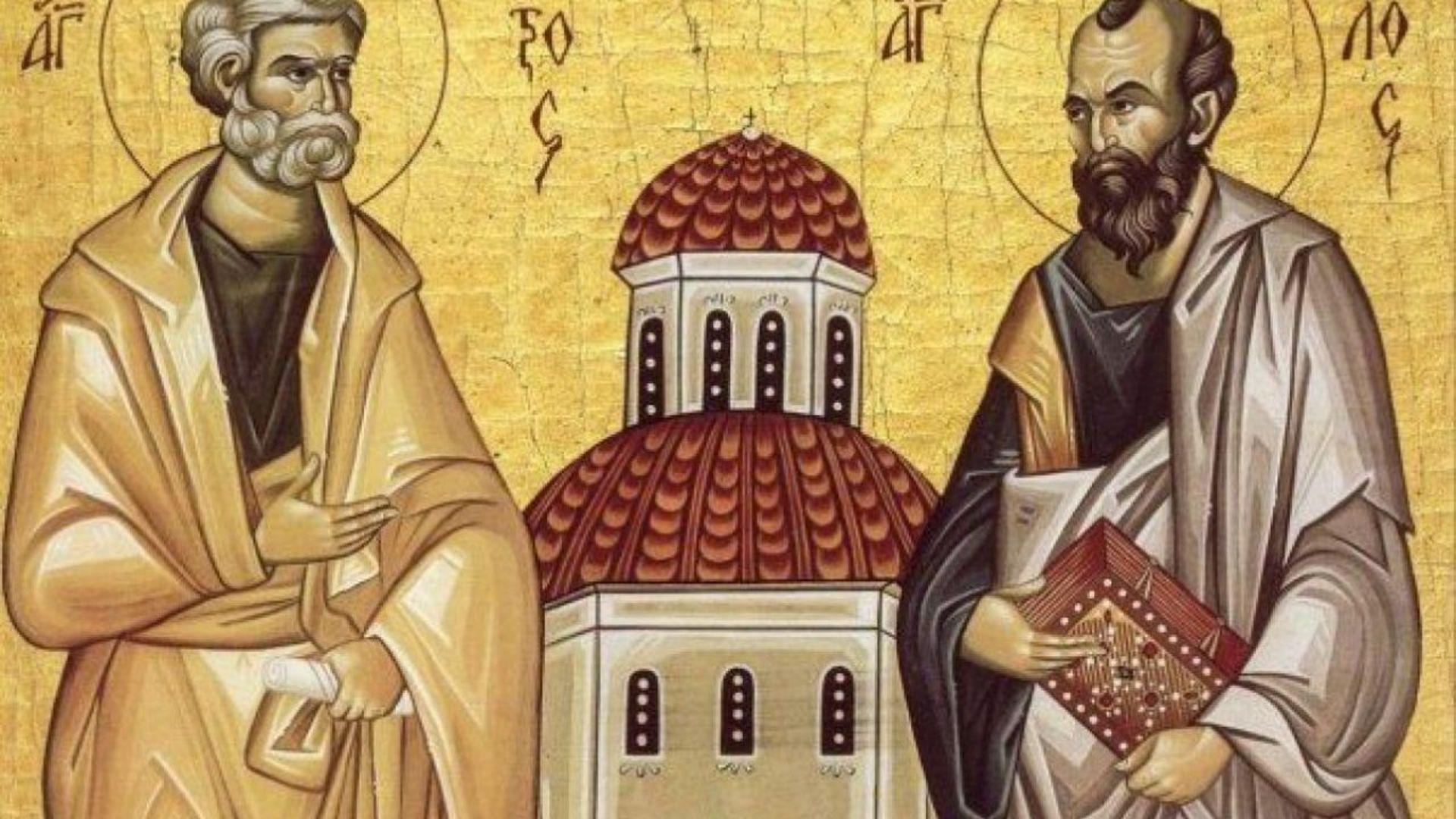 Sfinții Apostoli Petru si Pavel. Tradiții și obiceiuri în zi de sărbătoare