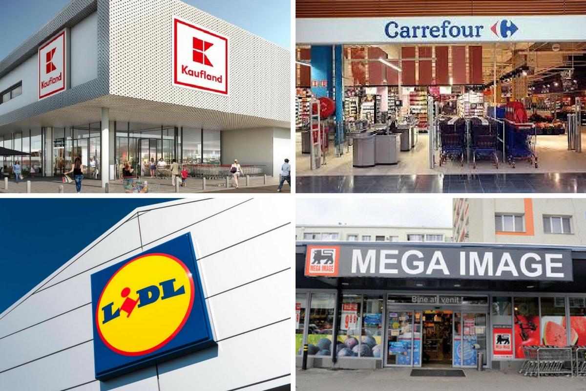 Program Rusalii 8 iunie Auchan, Carrefour, Mega Image, Lidl, Penny, Kaufland, Cora