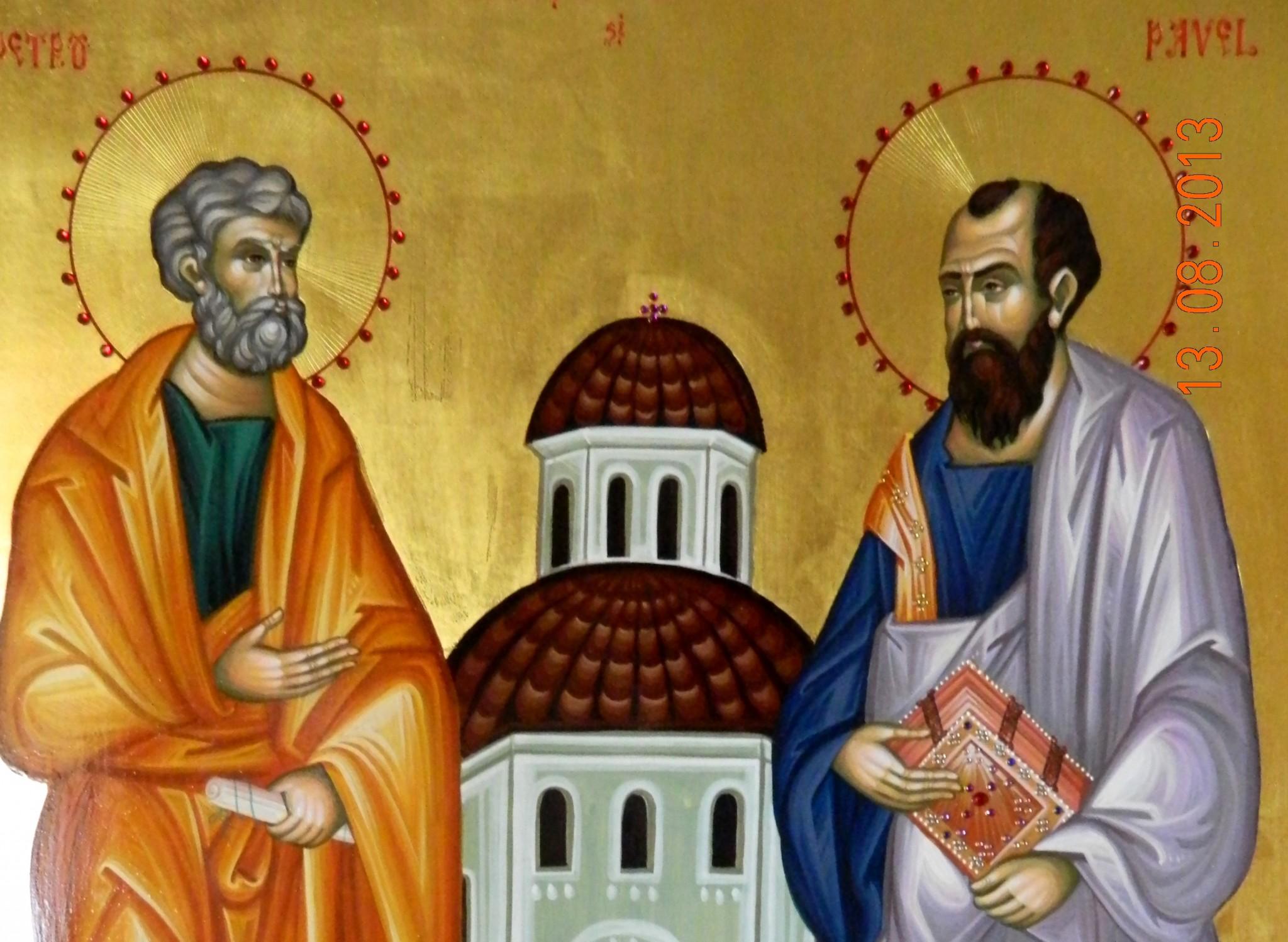 Calendar ortodox 29 iunie- Sfinții Apostoli Petru și Pavel. Mare sărbătoare pentru românii care le poartă numele