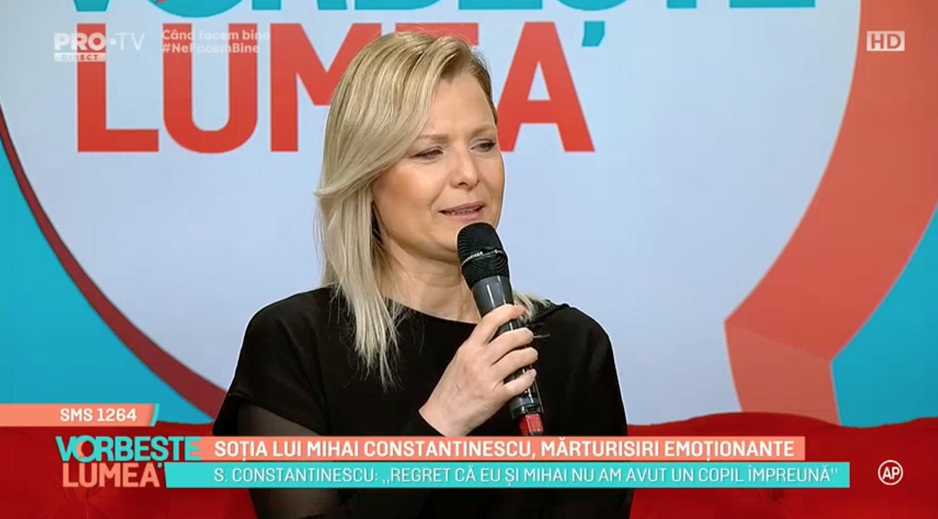 Soția lui Mihai Constantinescu l-a visat, ce i-a spus acesta în vis. Îți dau lacrimile