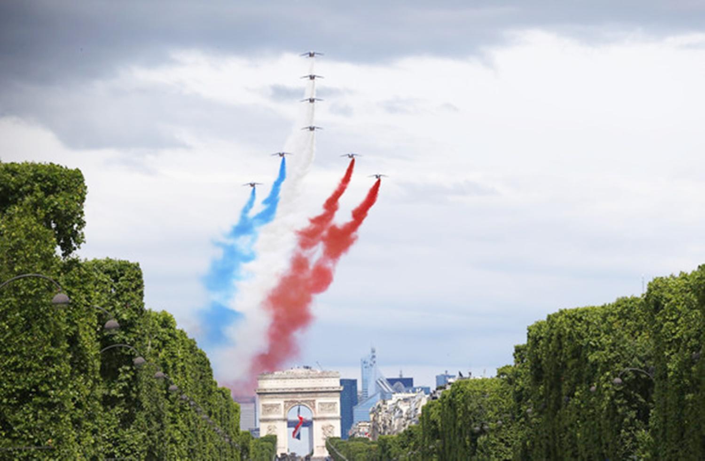 14 iulie - Ziua Națională a Franței. Anul acesta se sărbătorește diferit