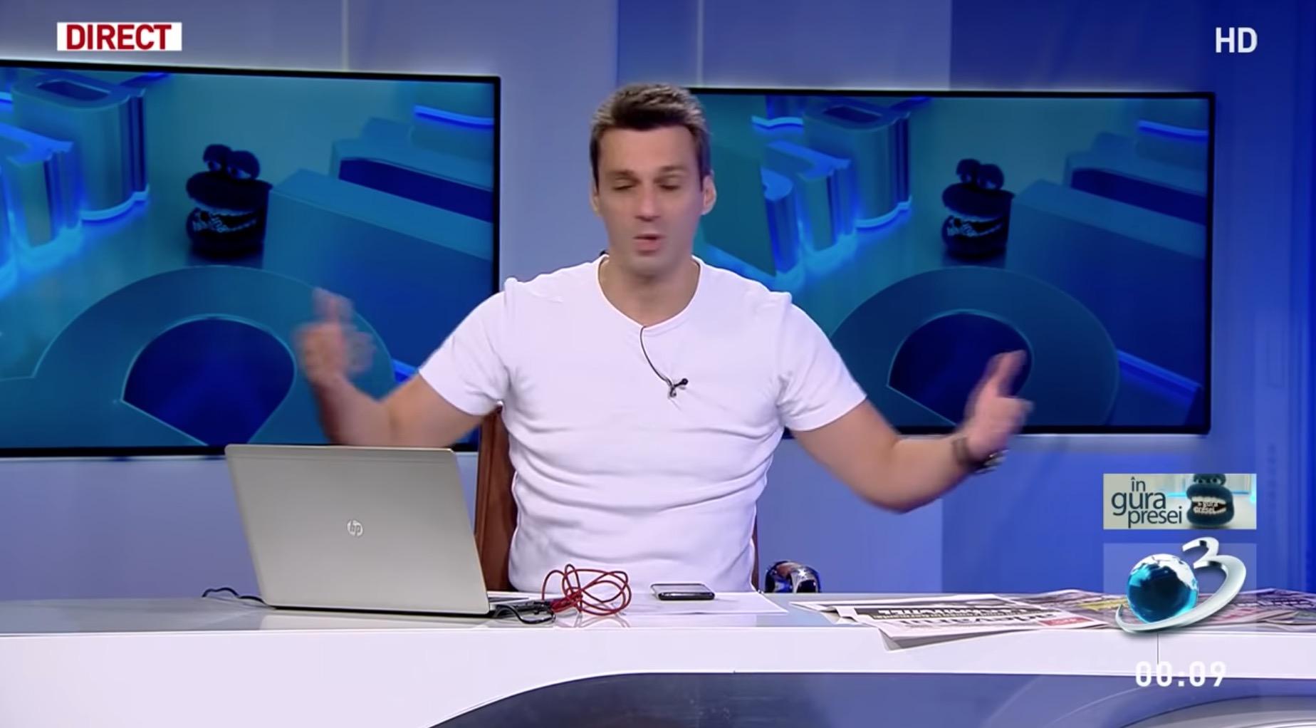 Mircea Badea interzice site-ului Antena3.ro să mai scrie despre el sau să-l mai citeze