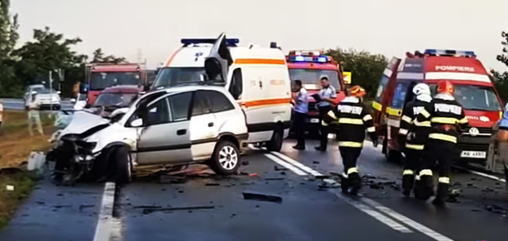 Accident rutier grav în Vrancea! Doi morți, printre care un primar