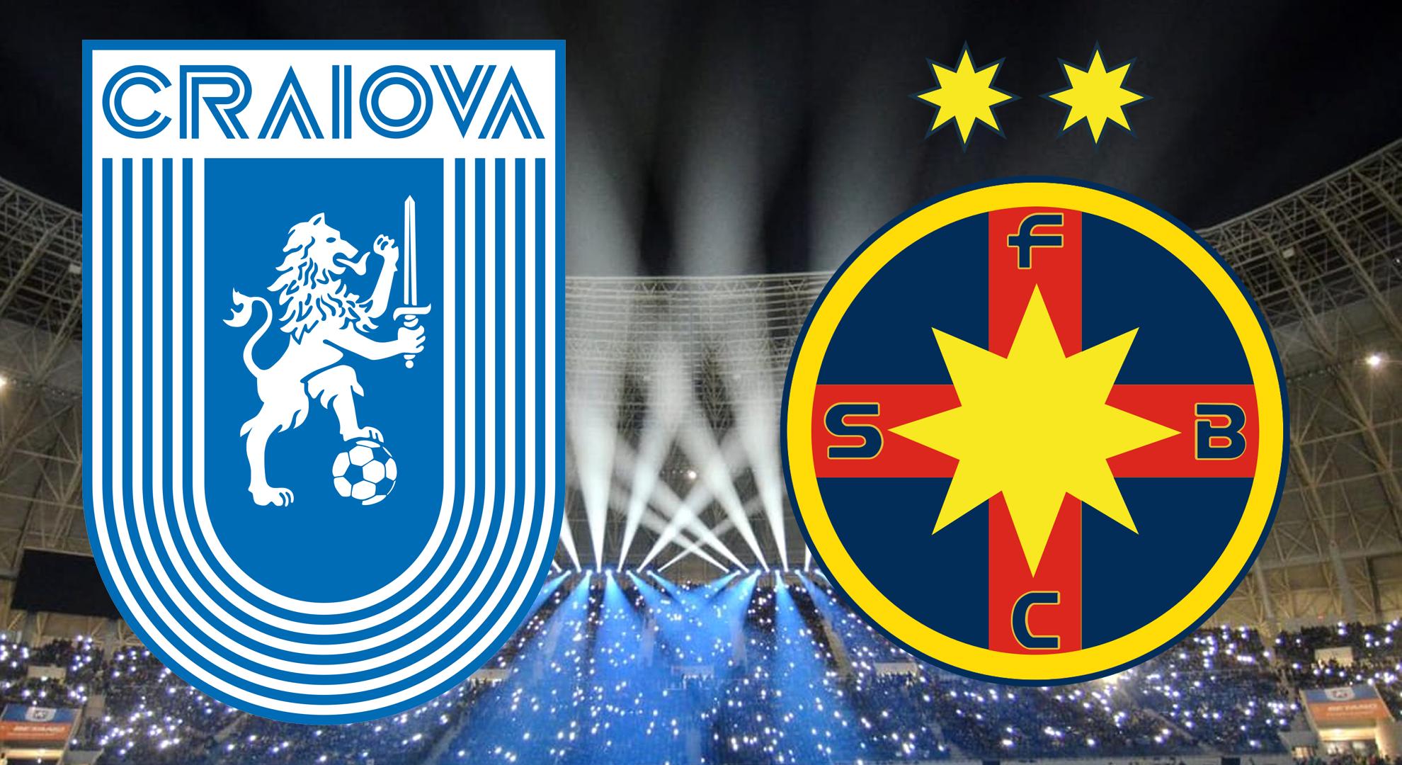 Universitatea Craiova - FCSB Scor 0-0. Live video & text! Lovitura dată de Steaua