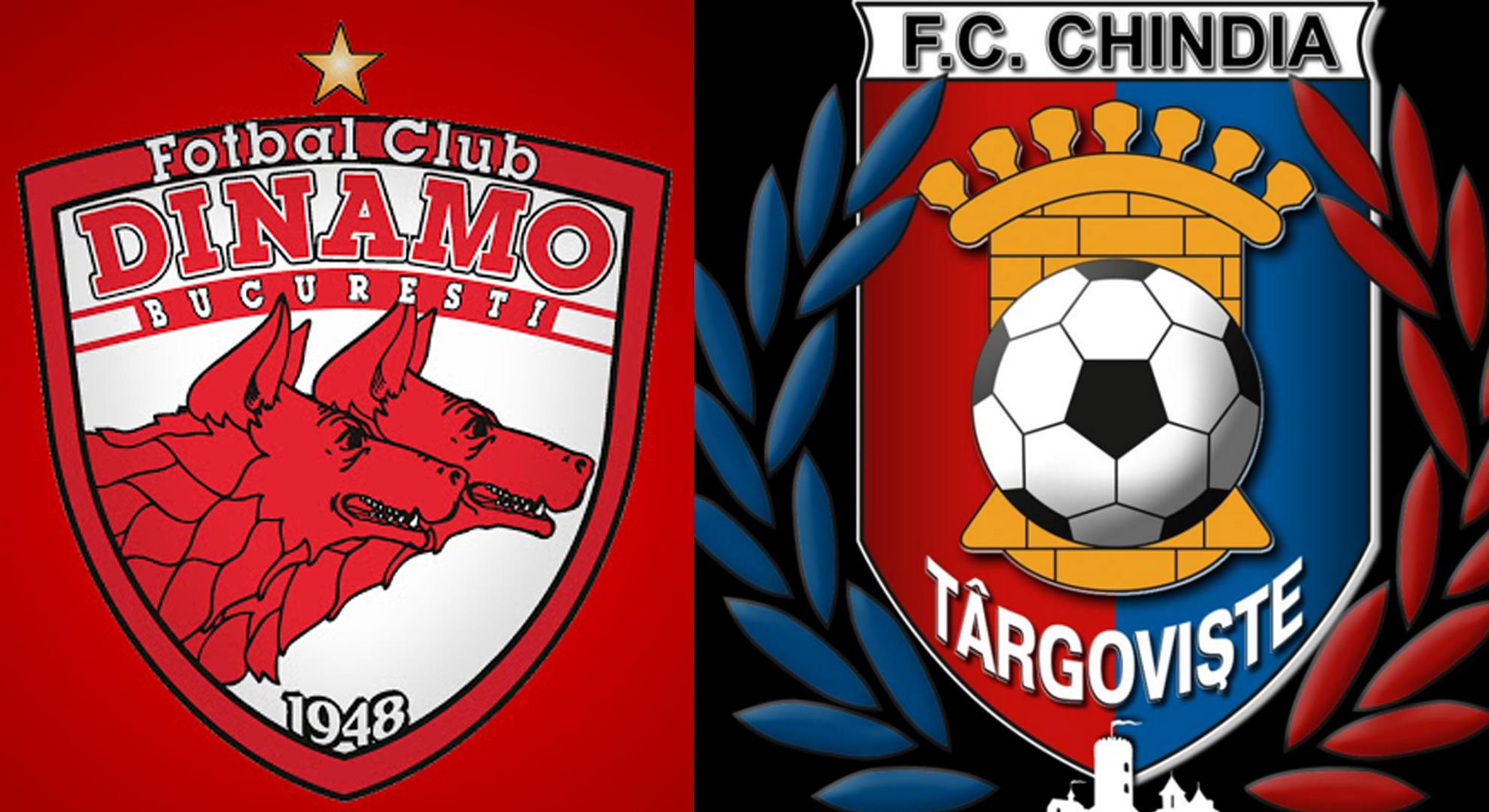 """Dinamo - Chindia """"derby-ul"""" retrogradaților?! Meciul se joacă joi de la ora 19"""
