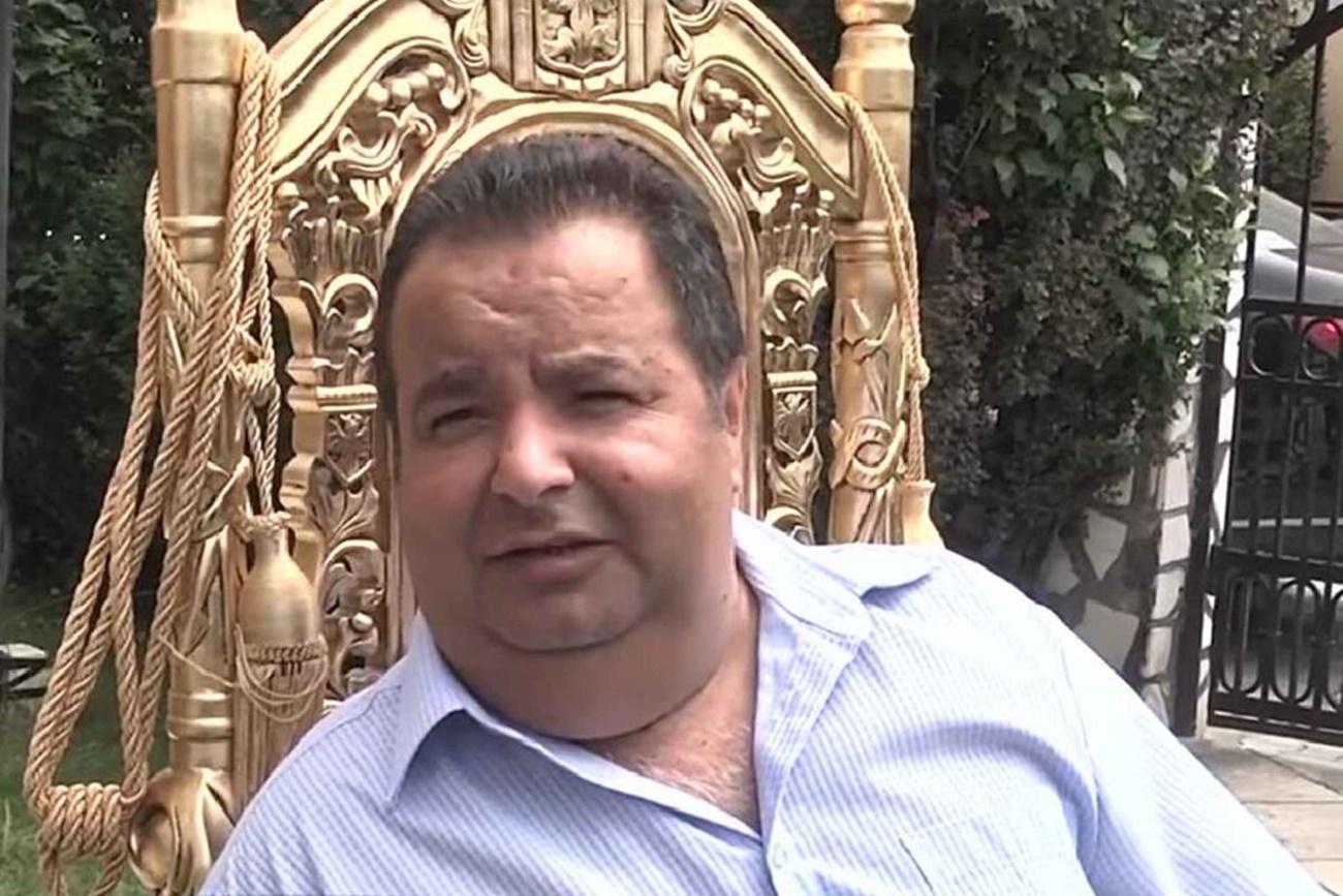 Autointitulatul rege al romilor, Dorin Cioabă s-a infectat cu noul coronavirus