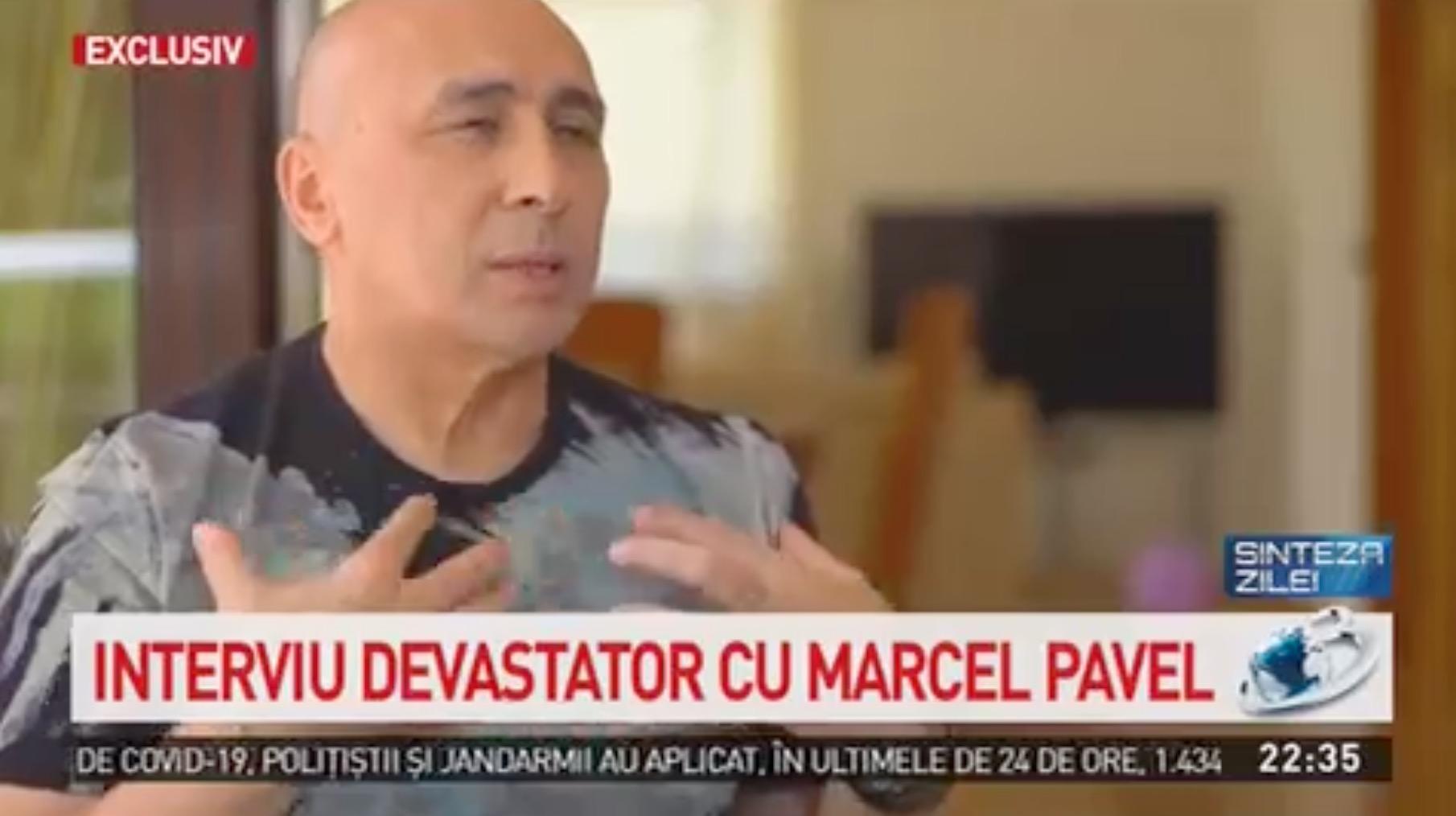 """Marcel Pavel, mărturii din infern la Sinteza Zilei! """"M-a furat valul. Era să fiu intubat"""""""