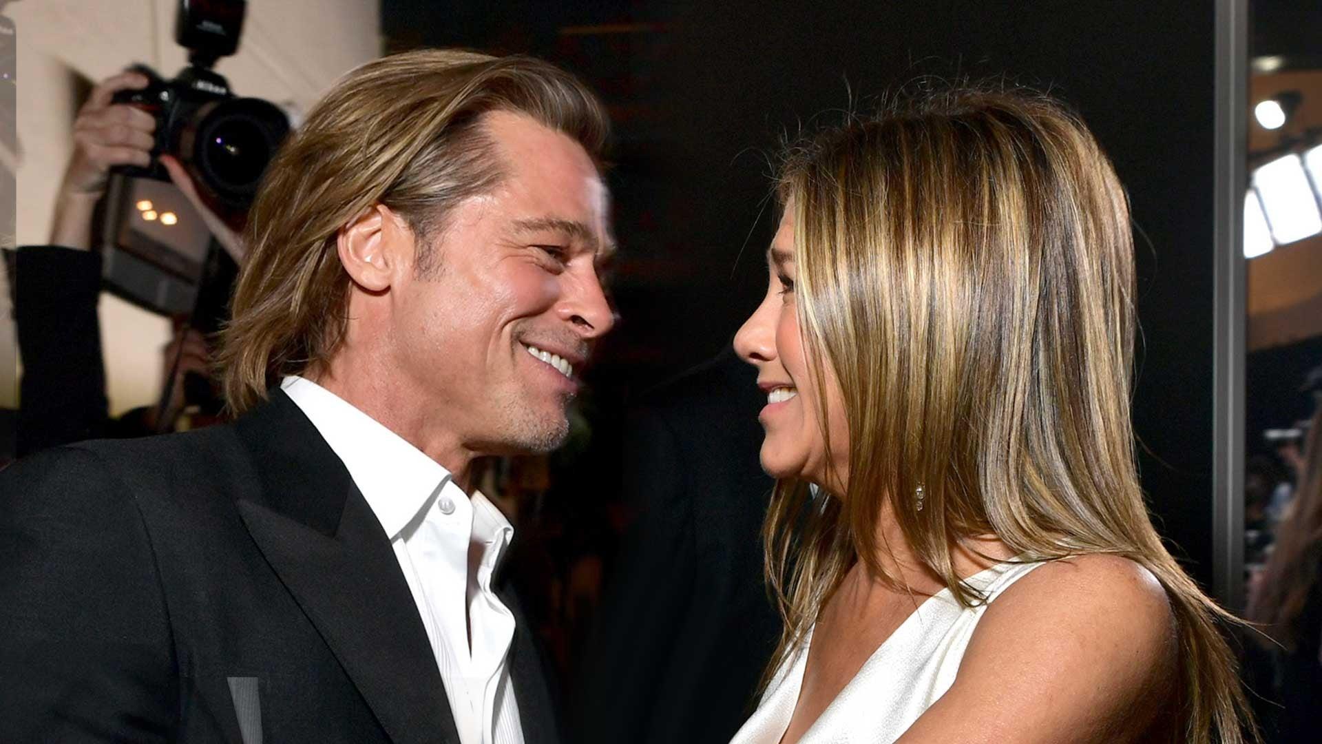 Brad Pitt și Jennifer Aniston, din nou împreună! Fanii sunt în extaz