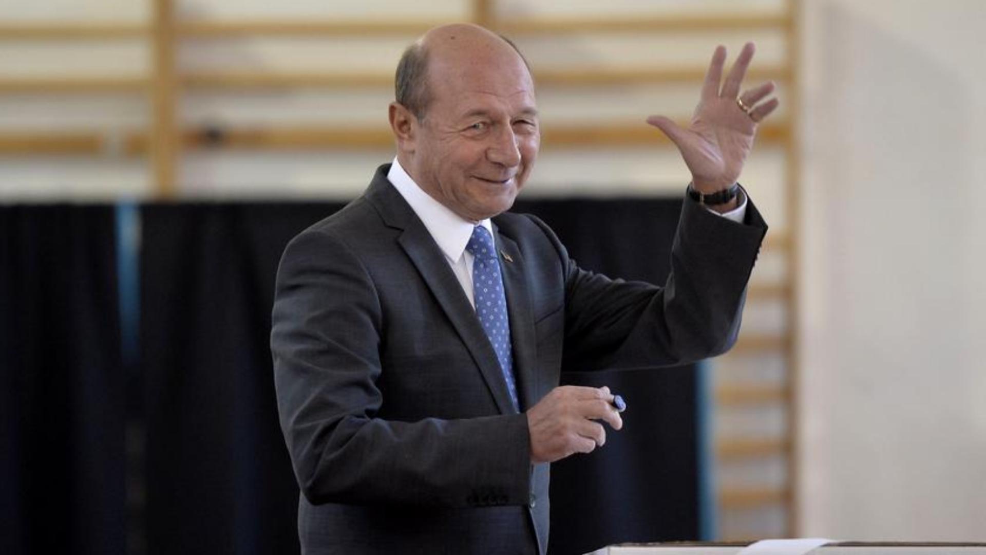 Traian Băsescu candidează la Primăria Capitalei. Anunțul oficial făcut de președintele PMP
