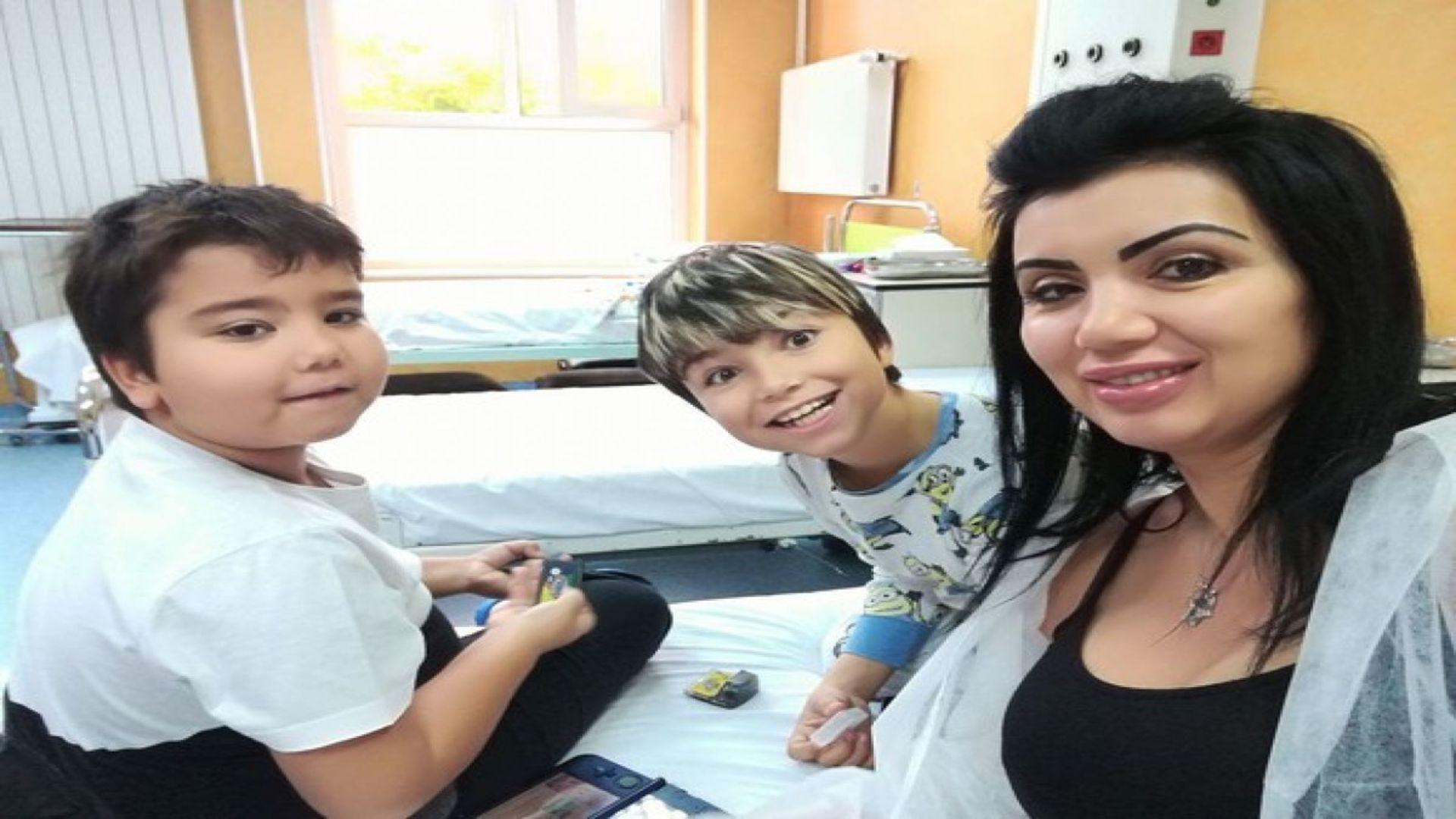 """Andreea Bahmuțeanu și-a revăzut copiii după șase luni: """"Nu i-a mai lăsat să vină la mine!"""""""