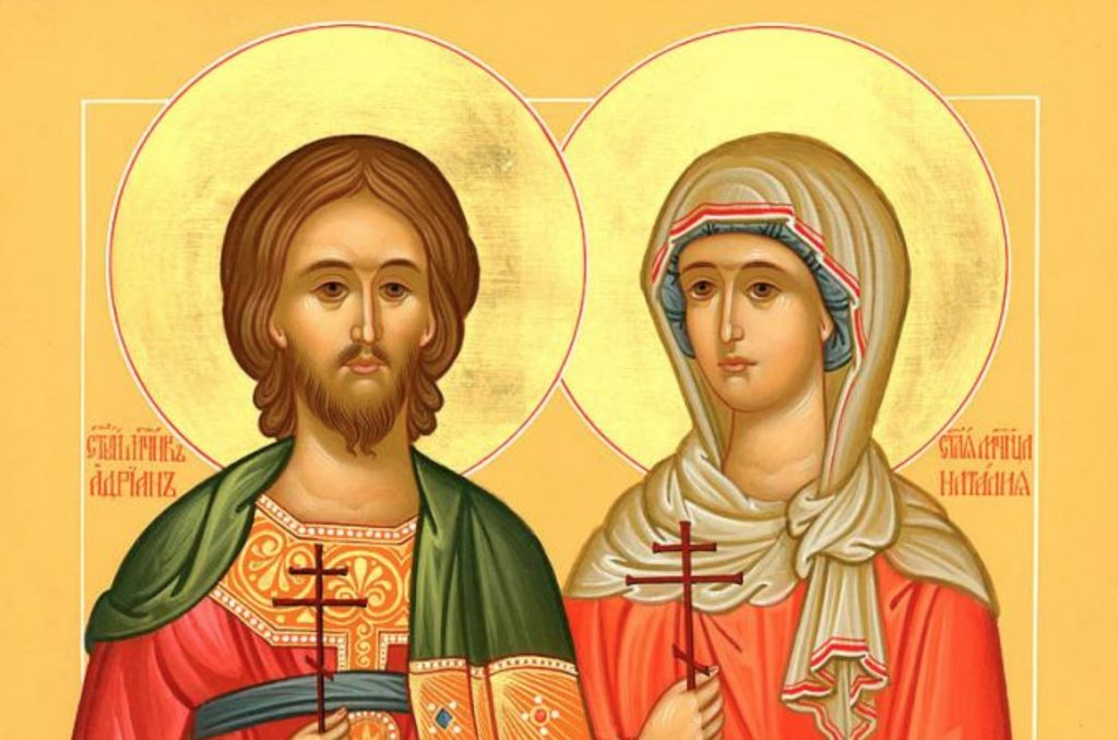 Calendar Ortodox 26 august 2020, Sfântul Adrian și Sfânta Natalia
