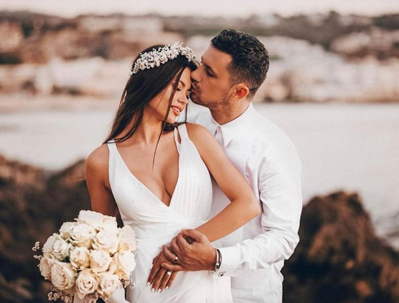 Flick - Domnul Rimă, s-a căsătorit cu Denisa Hodișan!