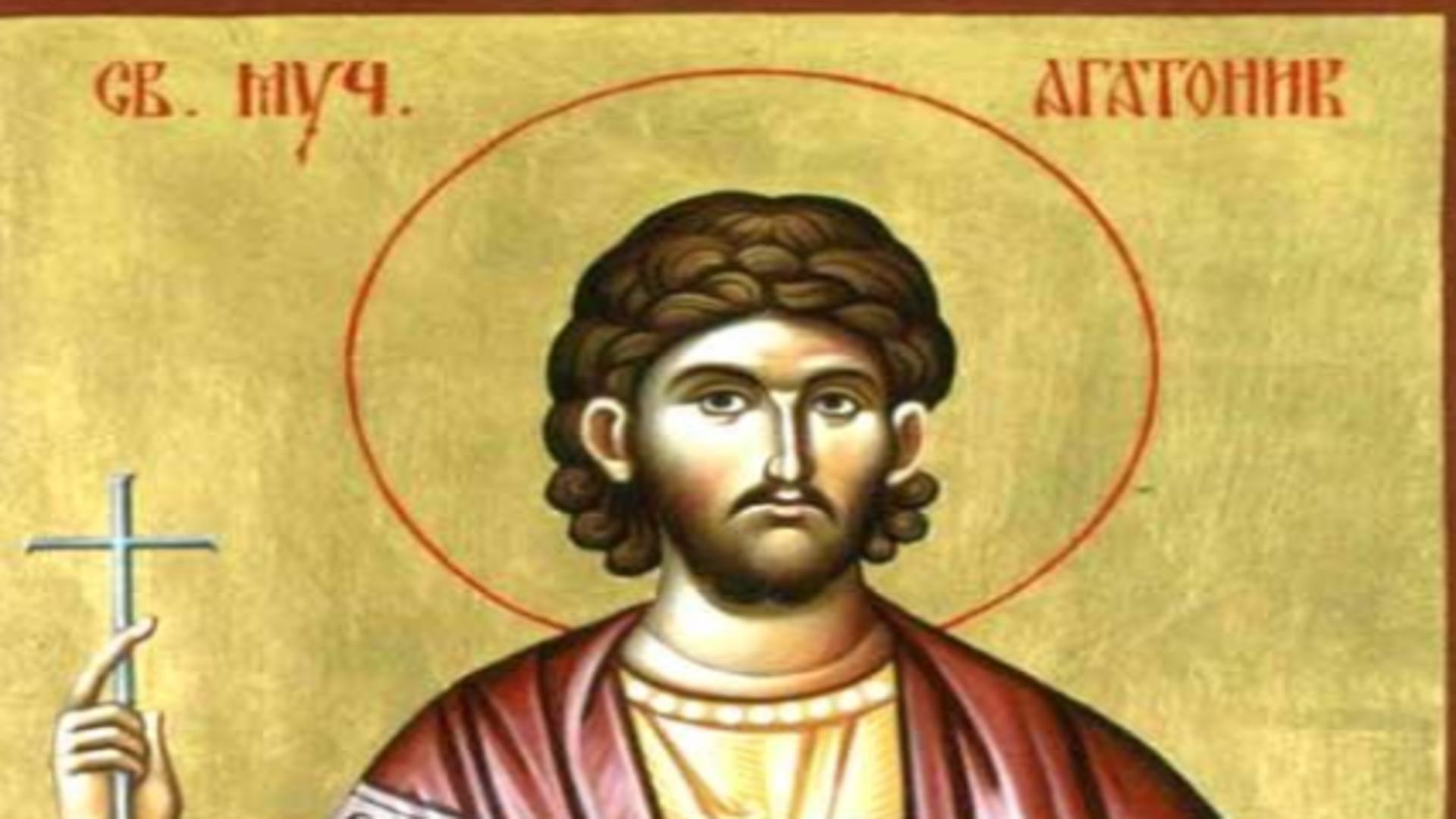 Calendar ortodox 22 august. Ce rugăciune se rostește în ziua prăznuirii Sfântului Mucenic Agatonic