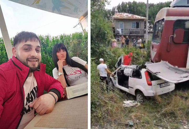 Noi imagini sfâșietoare cu Tavy Puștiu și soția lui, imediat după accident! Striga de durere