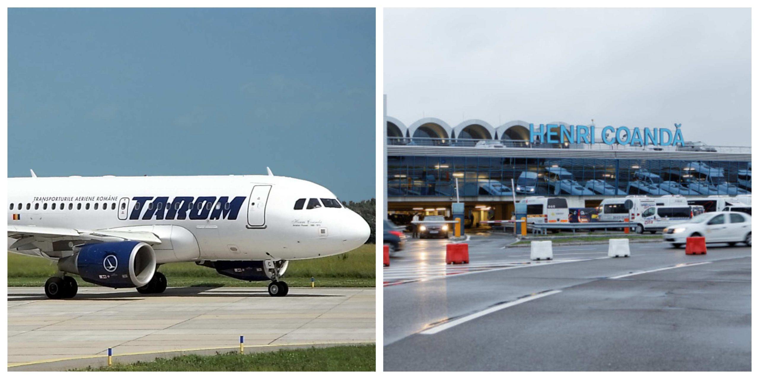 Alertă pe Aeroportul Otopeni! Un avion TAROM cu aproximativ 200 de pasageri a aterizat de urgență