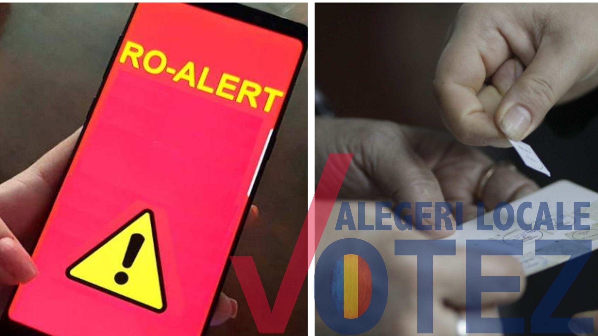 Atenție! Mesaje false de tip RO-ALERT privind cazuri de Covid-19 la secţiile de votare
