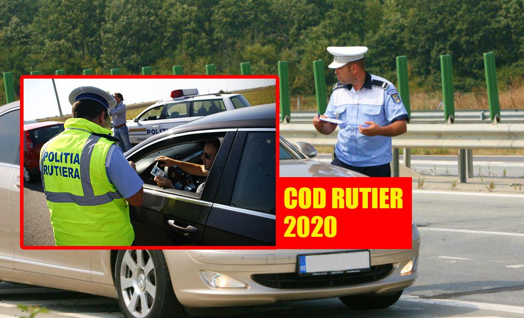 Cod Rutier 2020: motivele banale pentru care un polițist te poate amenda. Mulți șoferi nu știu asta