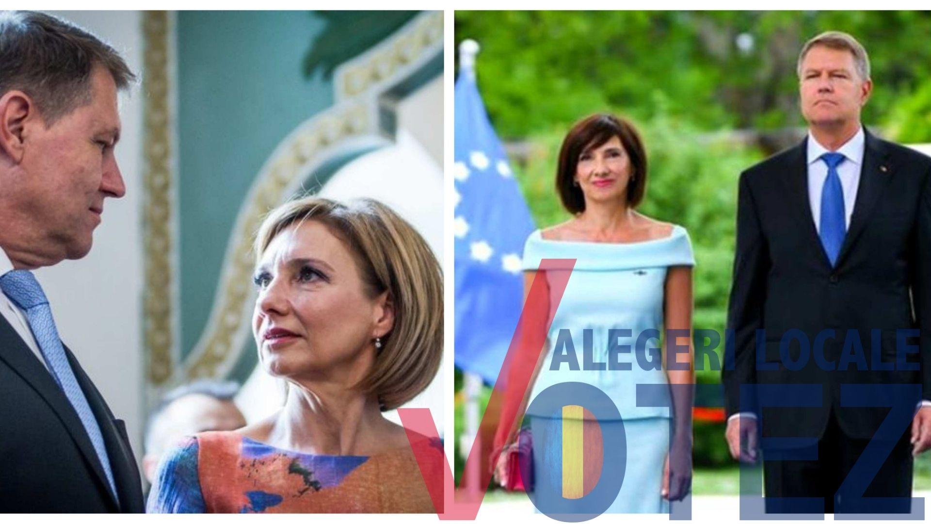Cum a apărut Carmen Iohannis la vot. Nu a fost însoțită de președinteCum a apărut Carmen Iohannis la vot. Nu a fost însoțită de președinte