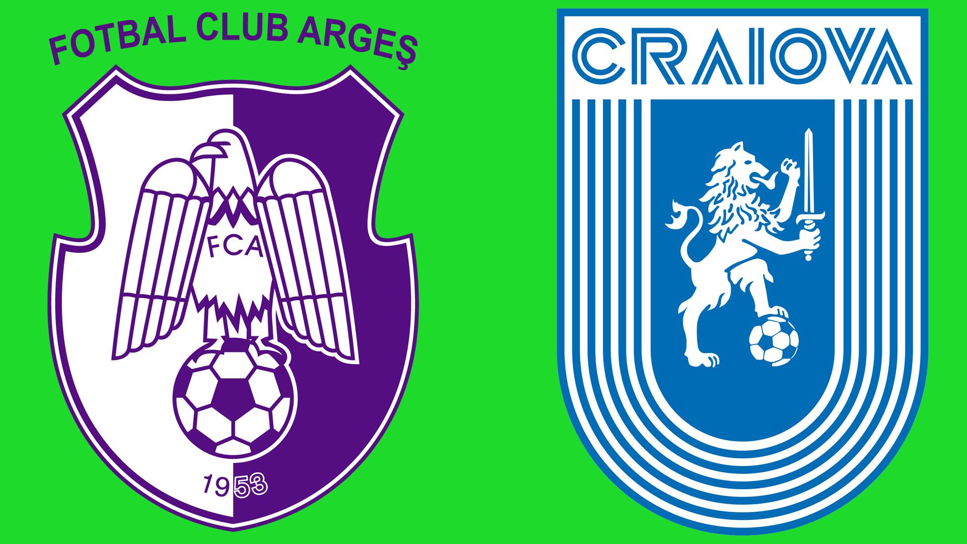 Live video Argeș - Craiova Scor 0-0. Vor ieși oltenii să rămână lideri?