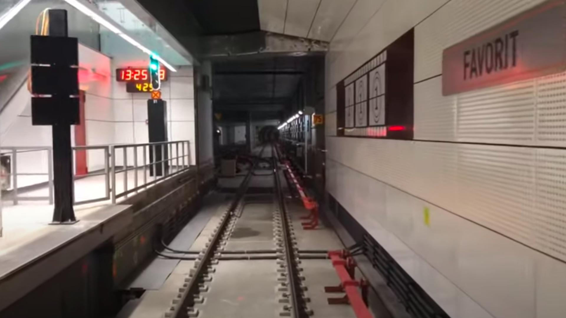 Metroul din Drumul Taberei. Astăzi se decide când va fi deschisă Magistrala 5