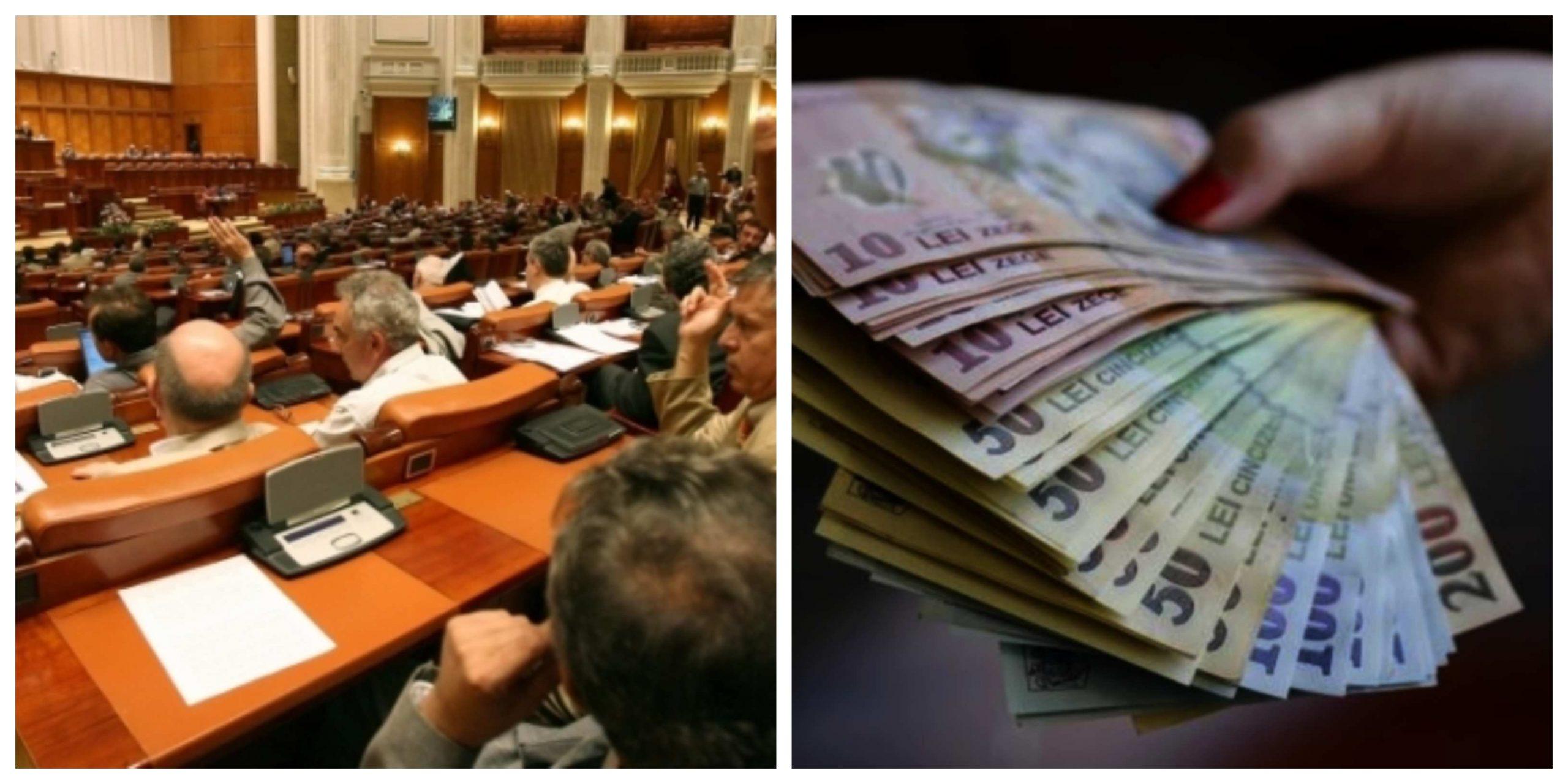 Parlamentul votează proiectul de rectificare bugetară. Află dacă vor crește pensiile și salariile