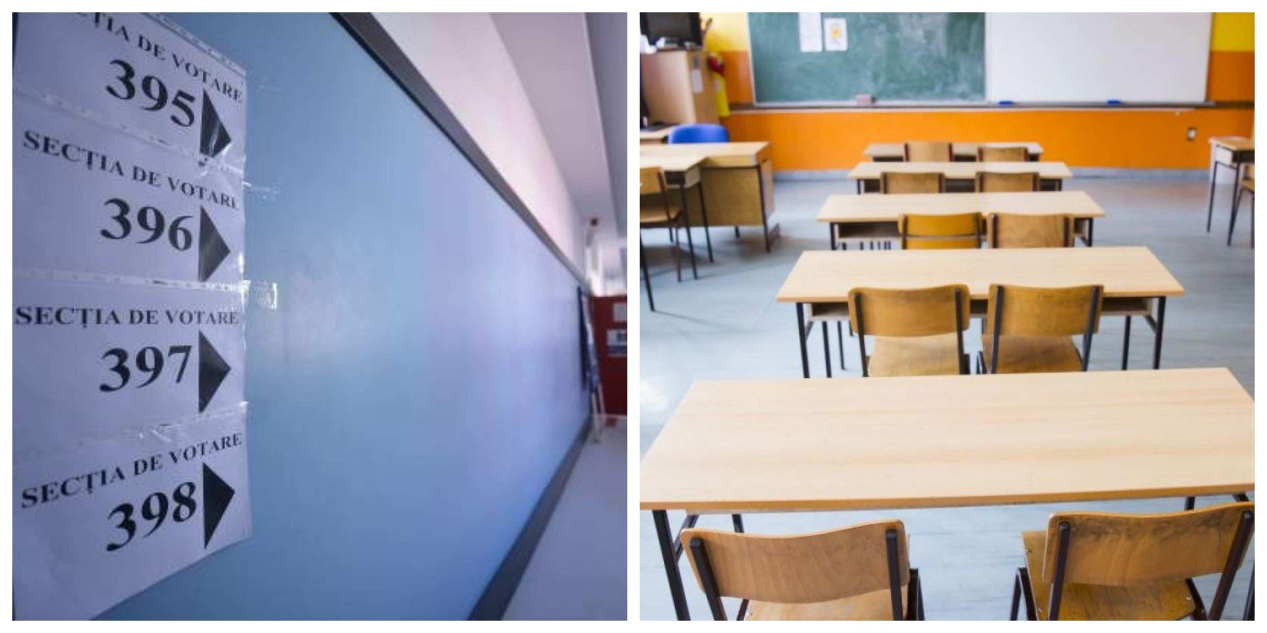 Se închid școlile din cauza alegerilor! Anunțul oficial al autorităților