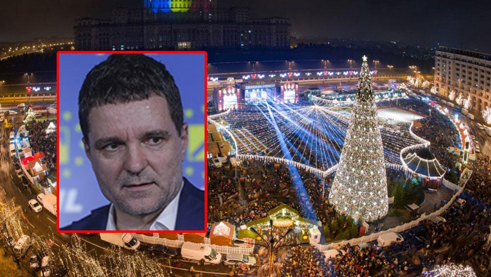 """Târgul de Crăciun din București ar putea să nu mai existe. Nicuşor Dan: """"E posibil să avem târguri private"""""""