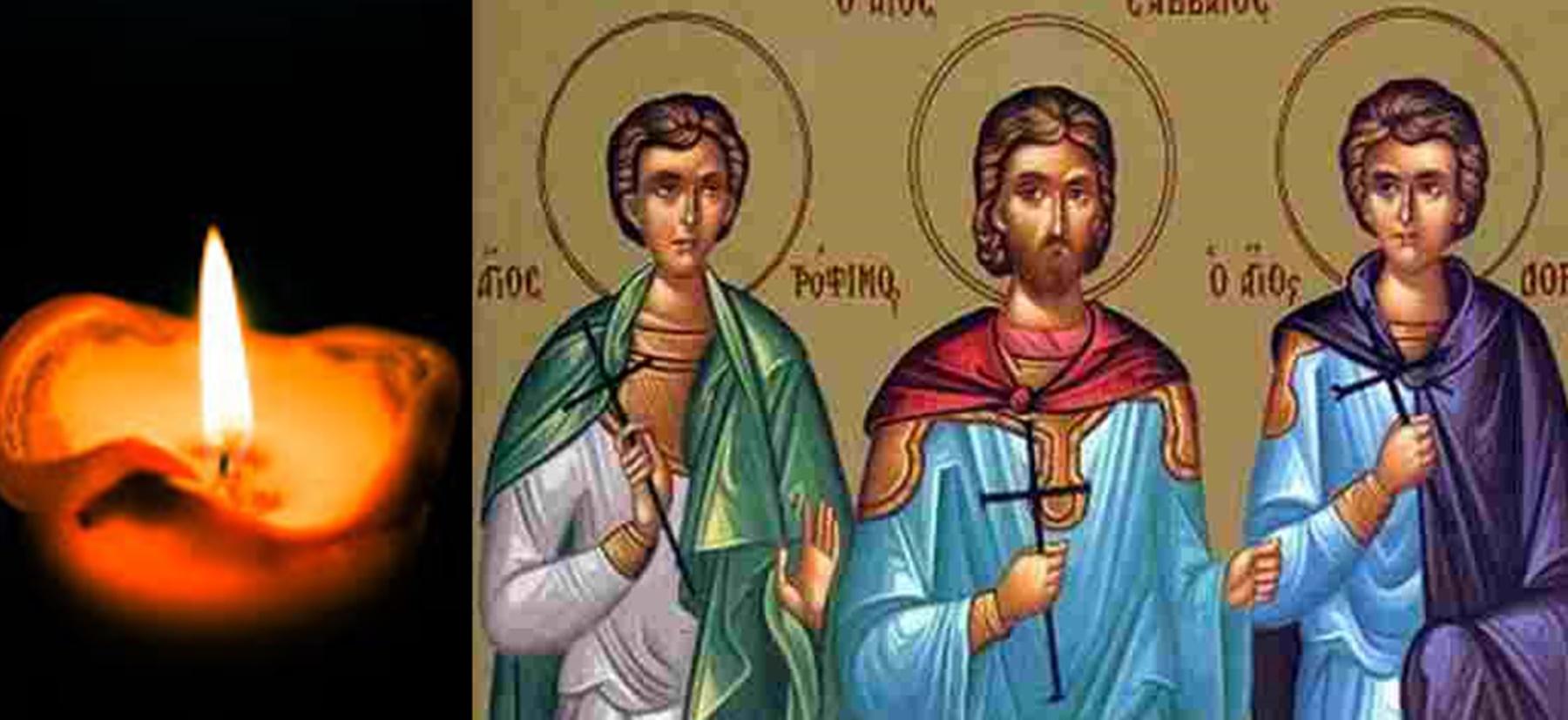 Calendar ortodox 19 septembrie 2020. Trei sfinți pomeniți în această zi