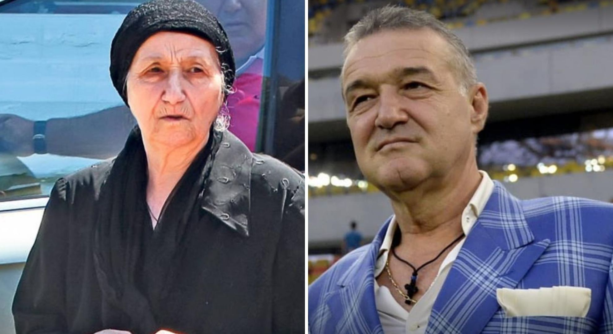 Misterul hainelor negre pe care mama lui Gigi Becali le poartă întotdeauna