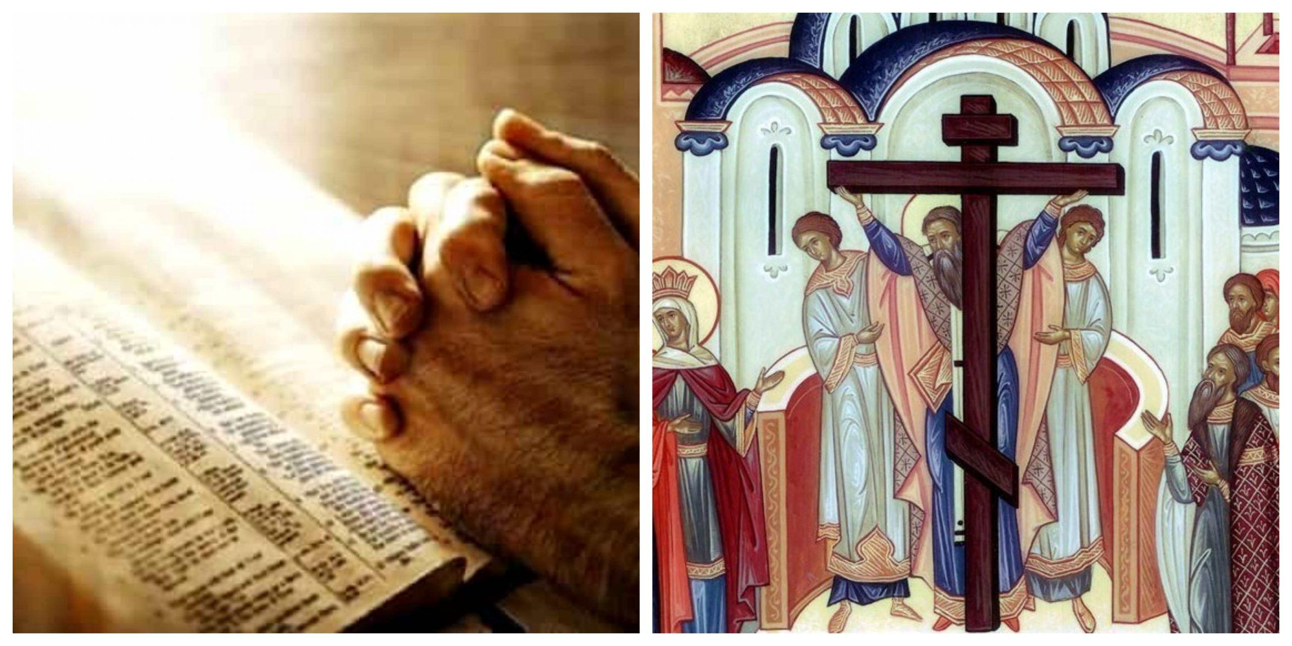 Cea mai puternică rugăciune de rostit în ziua Înălțării Sfintei Cruci