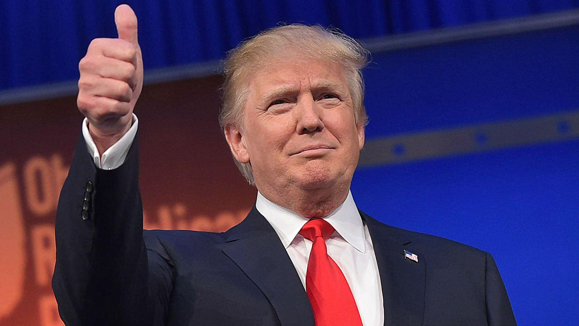 """Donald Trump nu se teme de concurență: """"Urcăm la un nivel pe care nu l-am mai văzut!"""""""