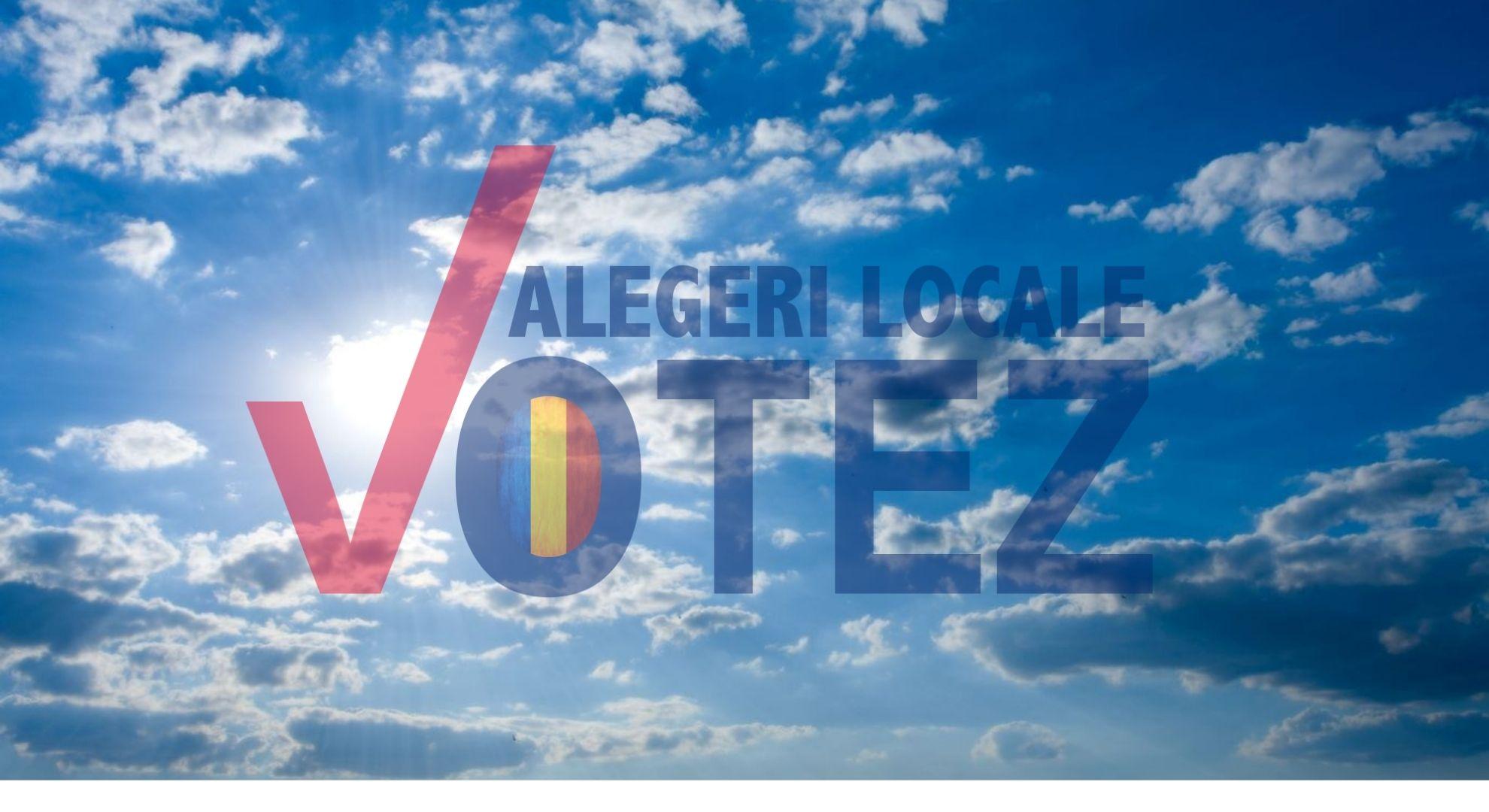 Vreme frumoasă în ziua alegerilor locale. Cald mai ales în București și în sud-estul țării