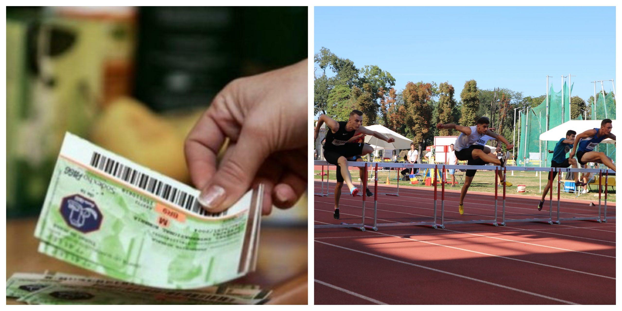 Ajutor de la stat pentru sportivii de performanță. Vor primi lunar un stimulent financiar