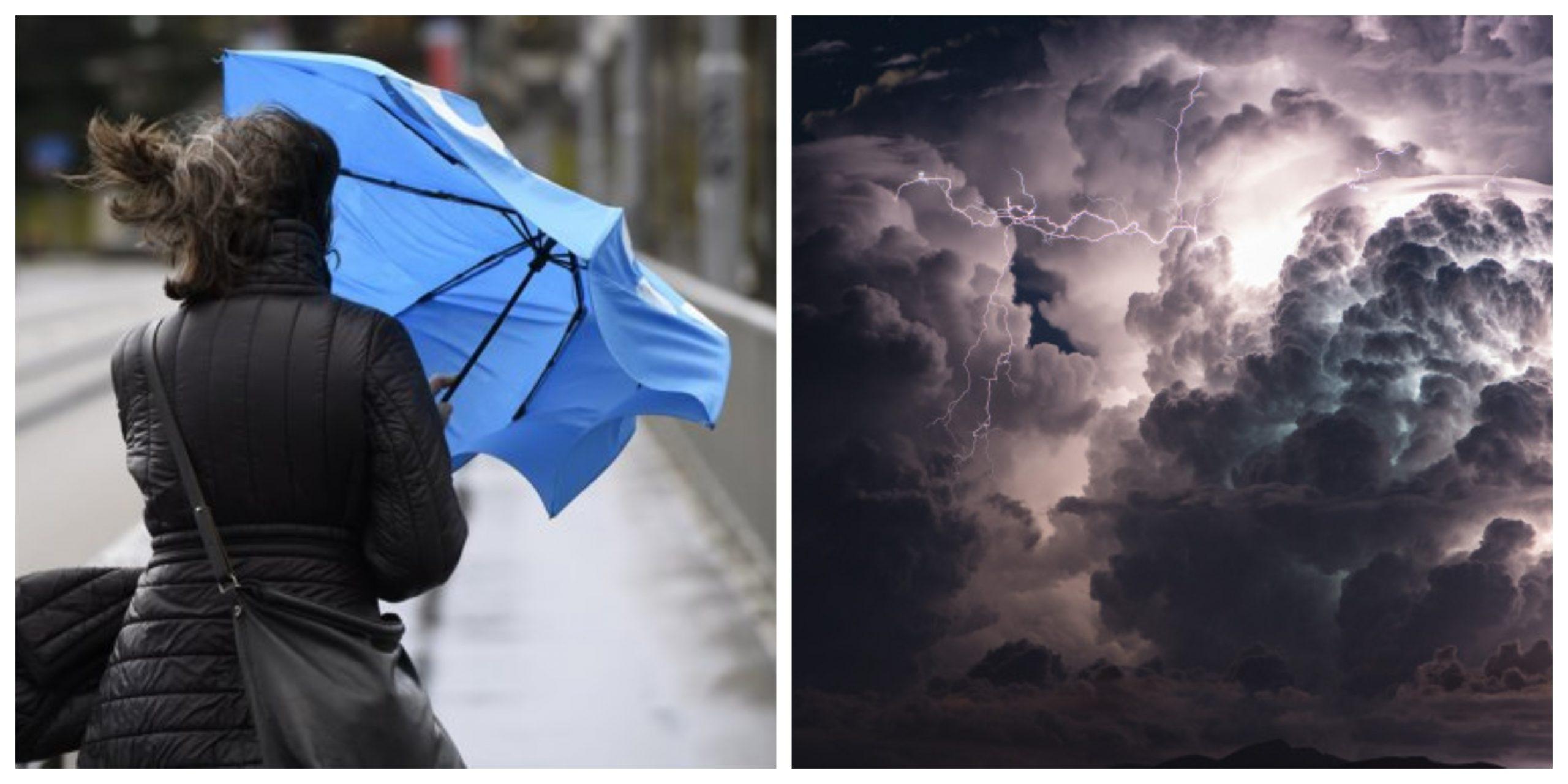 Alertă meteo ANM. Cod portocaliu și galben de ploi