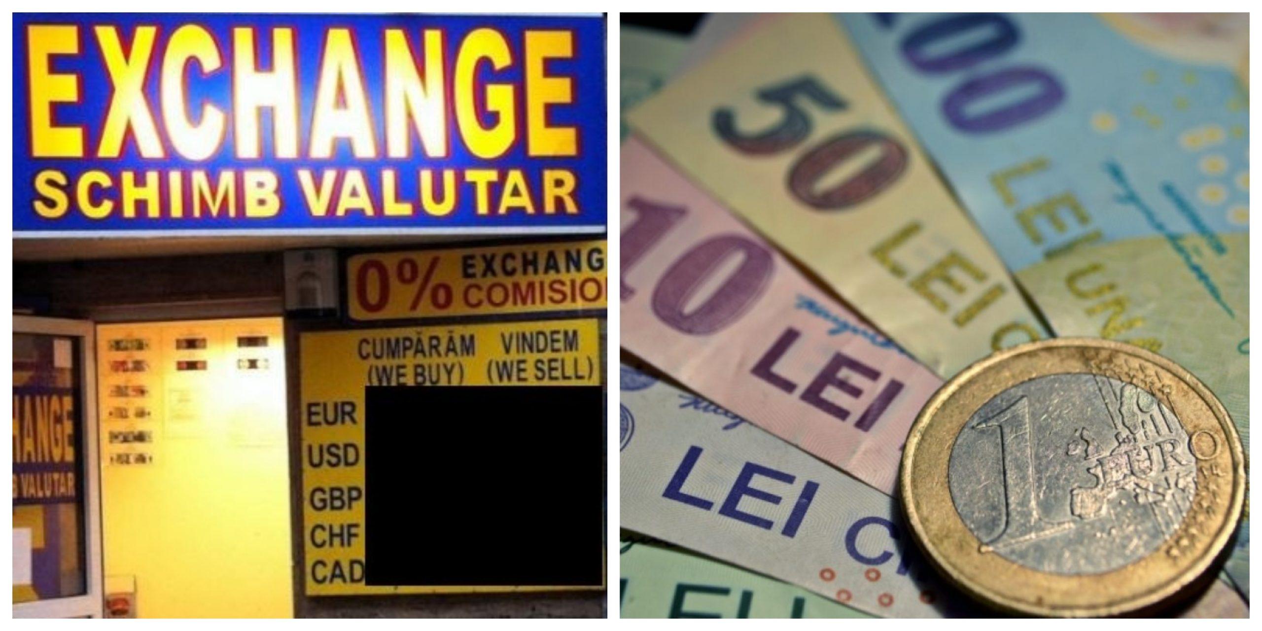 monede de schimb valutar