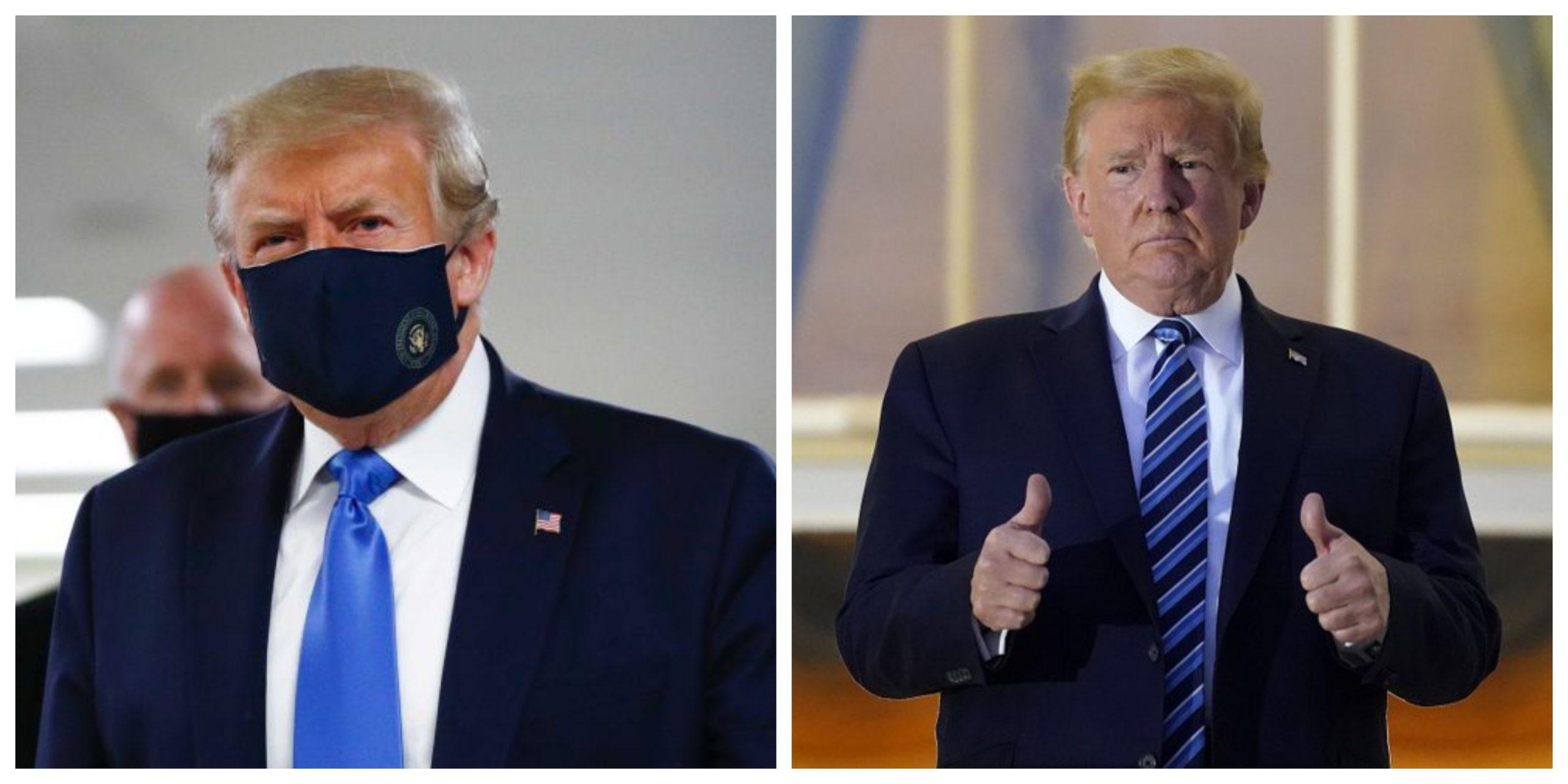 """Donald Trump s-a vindecat de coronavirus: """"Sunt imun!"""""""