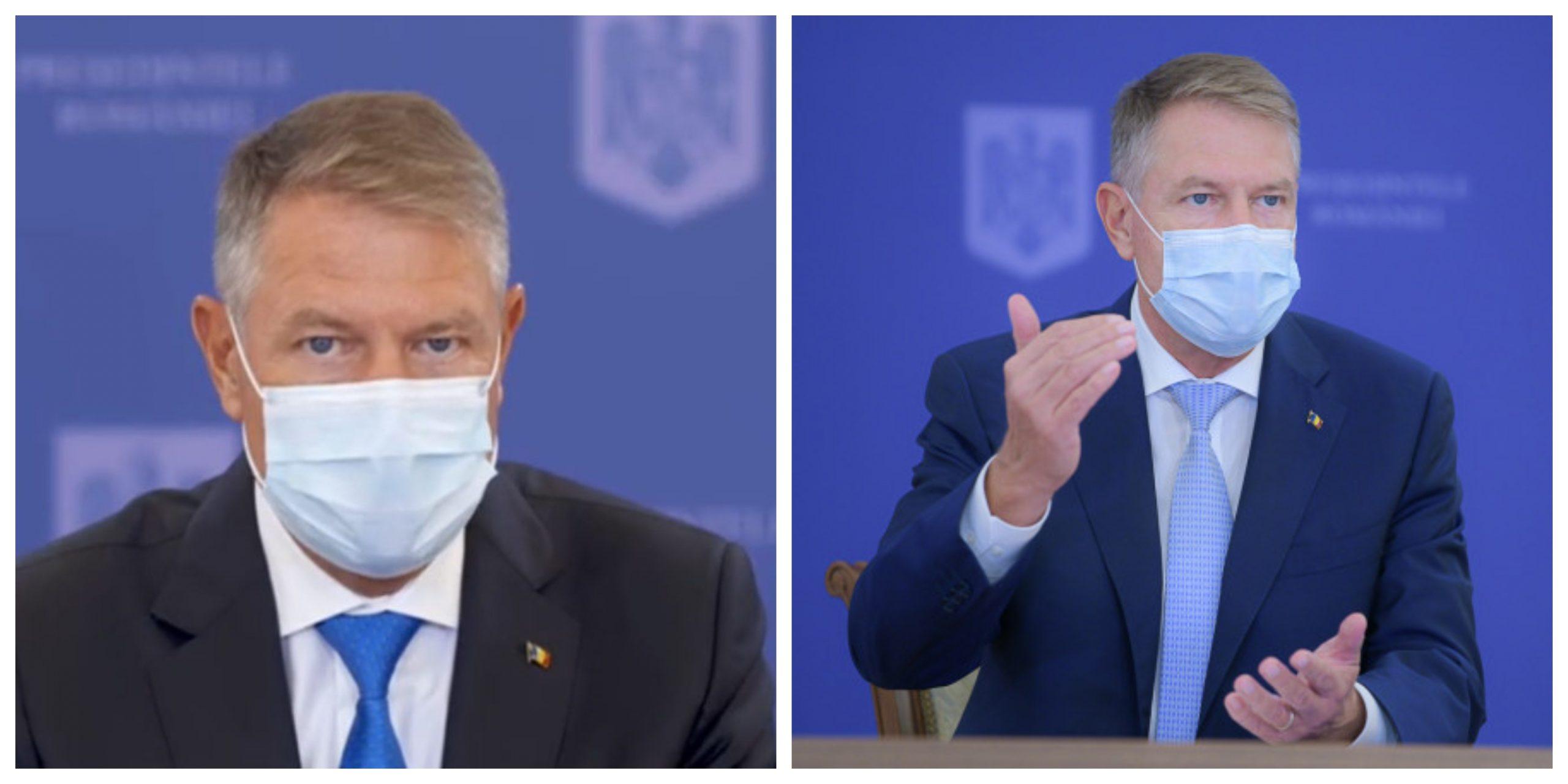 Klaus Iohannis, conferință de presă la ora 18.00. Declarații importante
