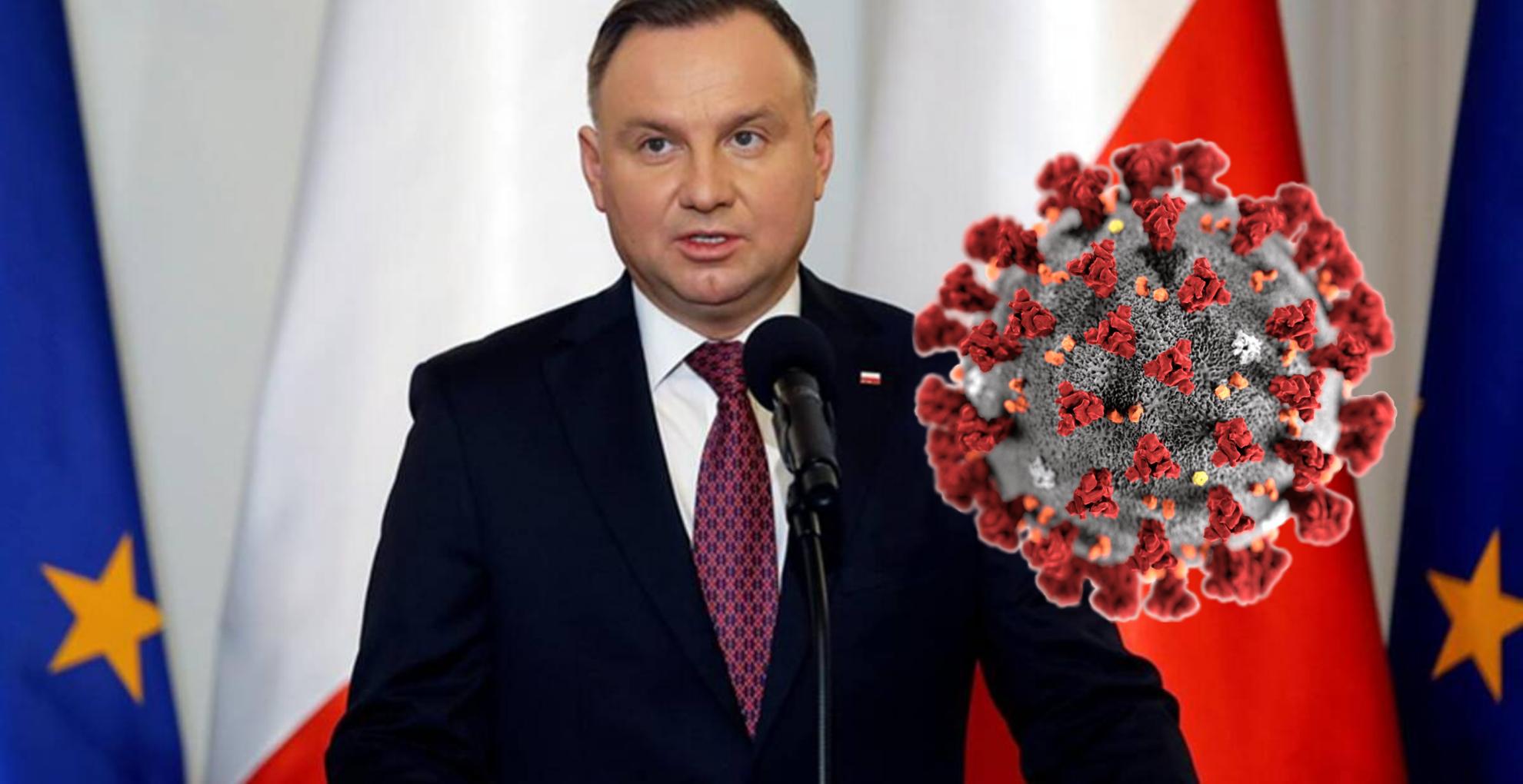 Lovitura supremă pentru președinte este infectat cu coronavirus! Moment critic în Polonia
