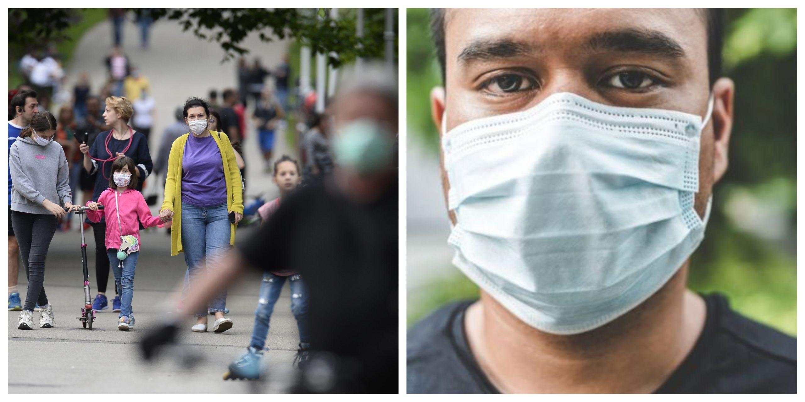 Masca de protecție, obligatorie în spațiile publice deschise