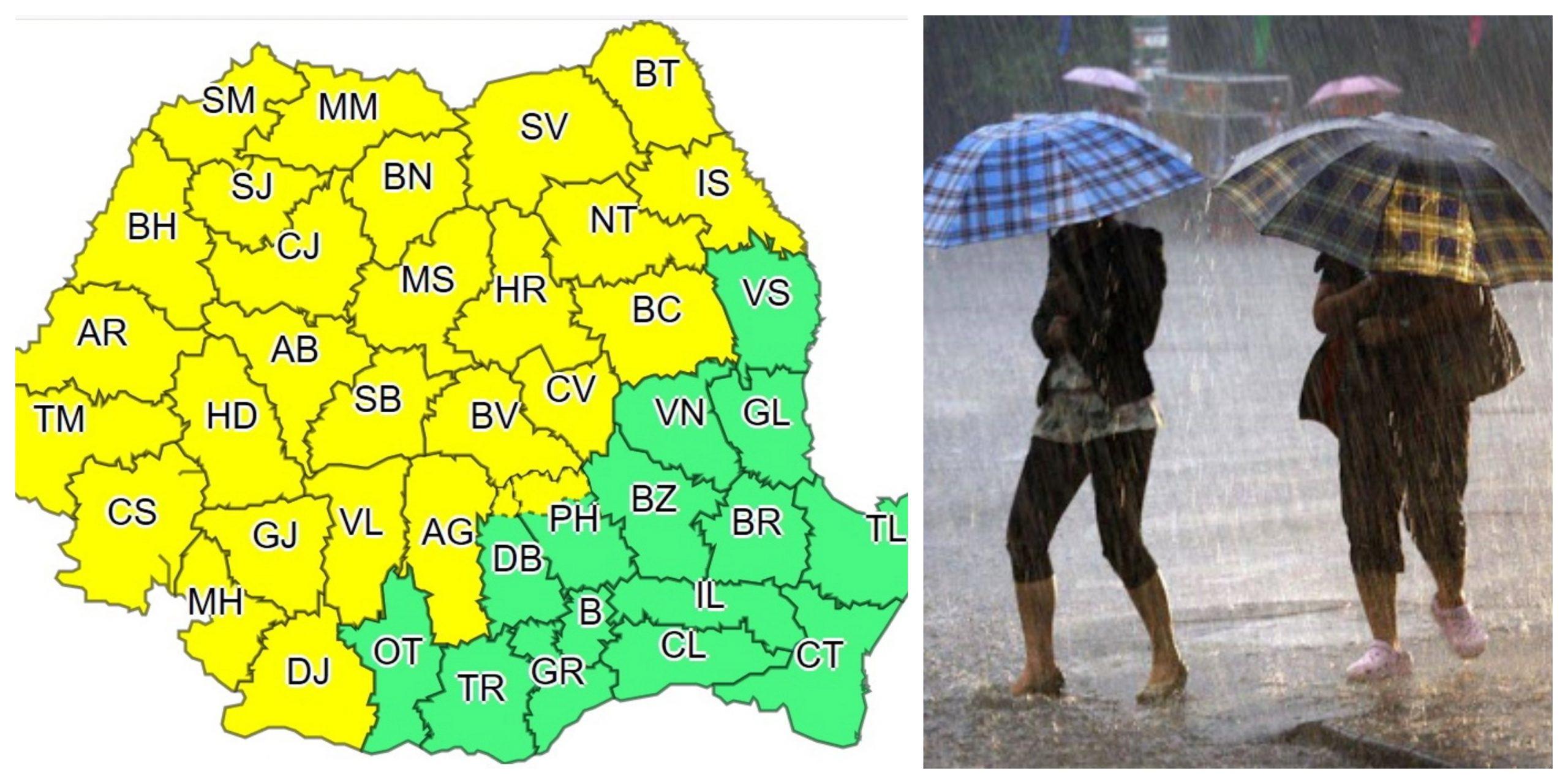 Prognoza meteo ANM 6 octombrie. Vremea se schimbă radical
