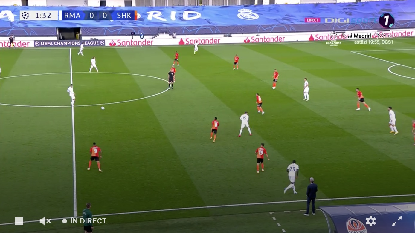 Live video Real Madrid - Shakhtar Scor. Galatacii speră la victorie. UEFA Champions League