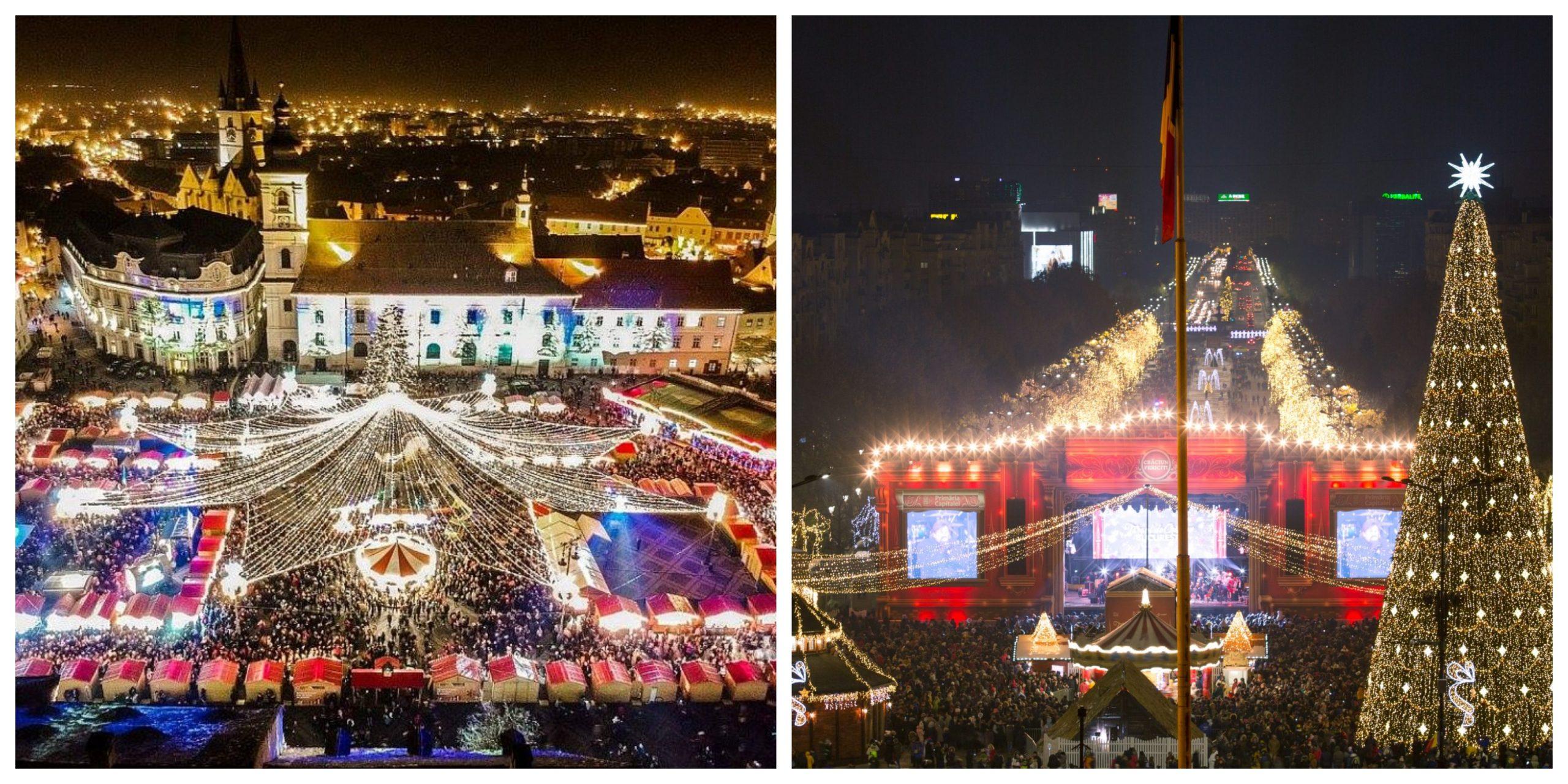 Târgul de Crăciun din București, anulat. Ce târg va avea loc în plină pandemie