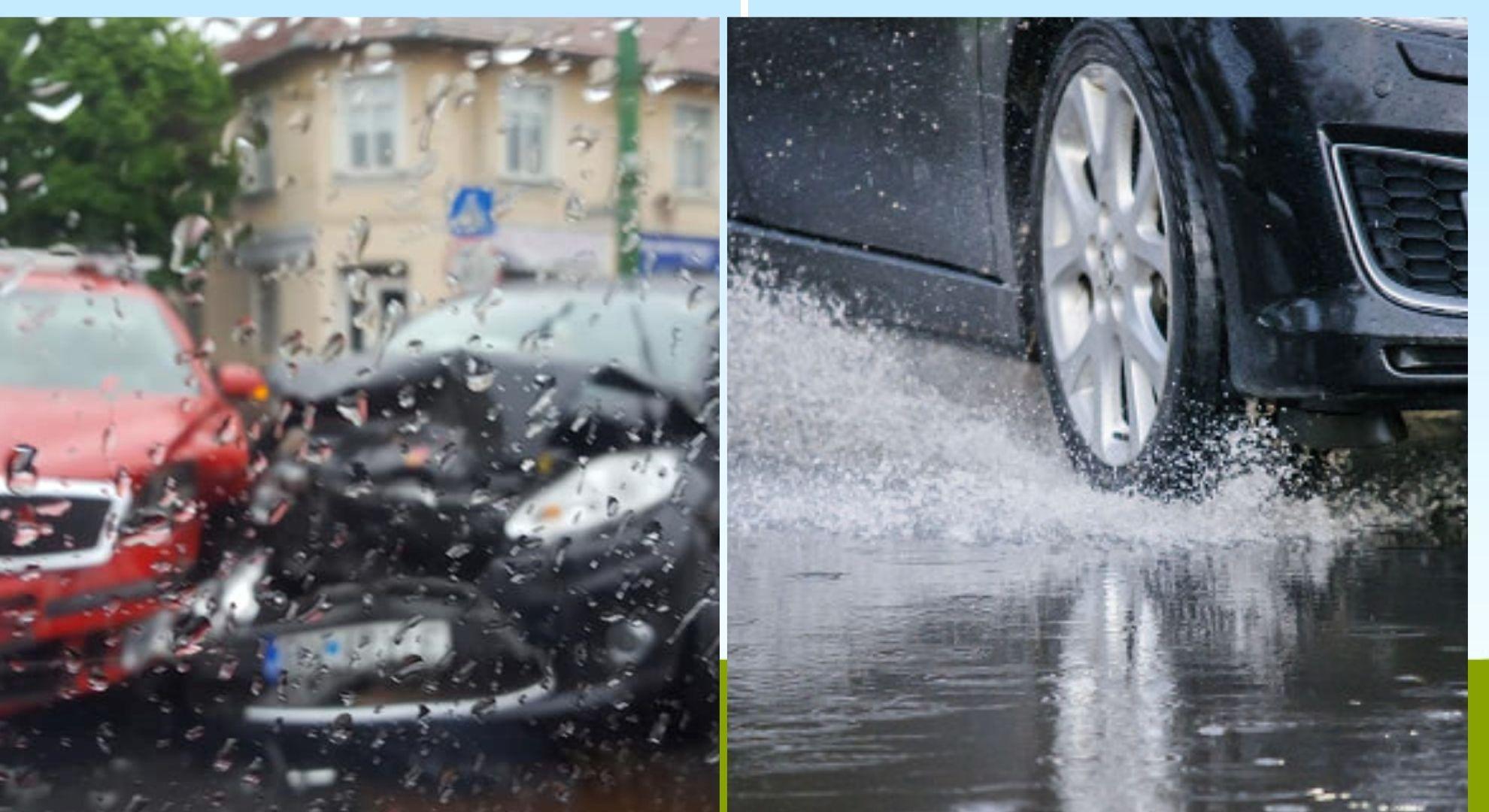 Ploaia, viteza și accidentele rutiere. Ce este acvaplanarea și cum poate fi evitată