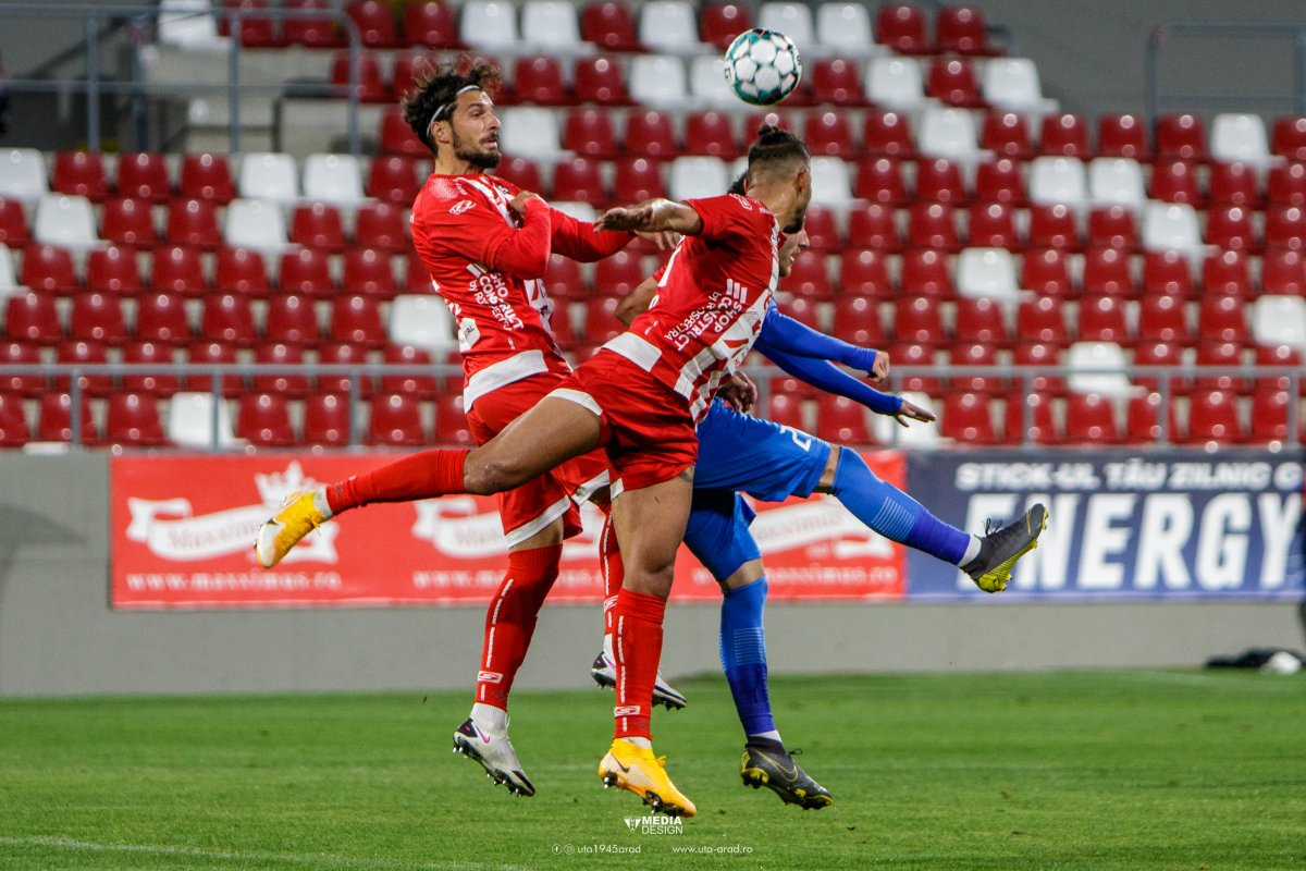 Botosani - UTA Arad SCOR 0-0. Ardelenii nu se lasa, vor victorie